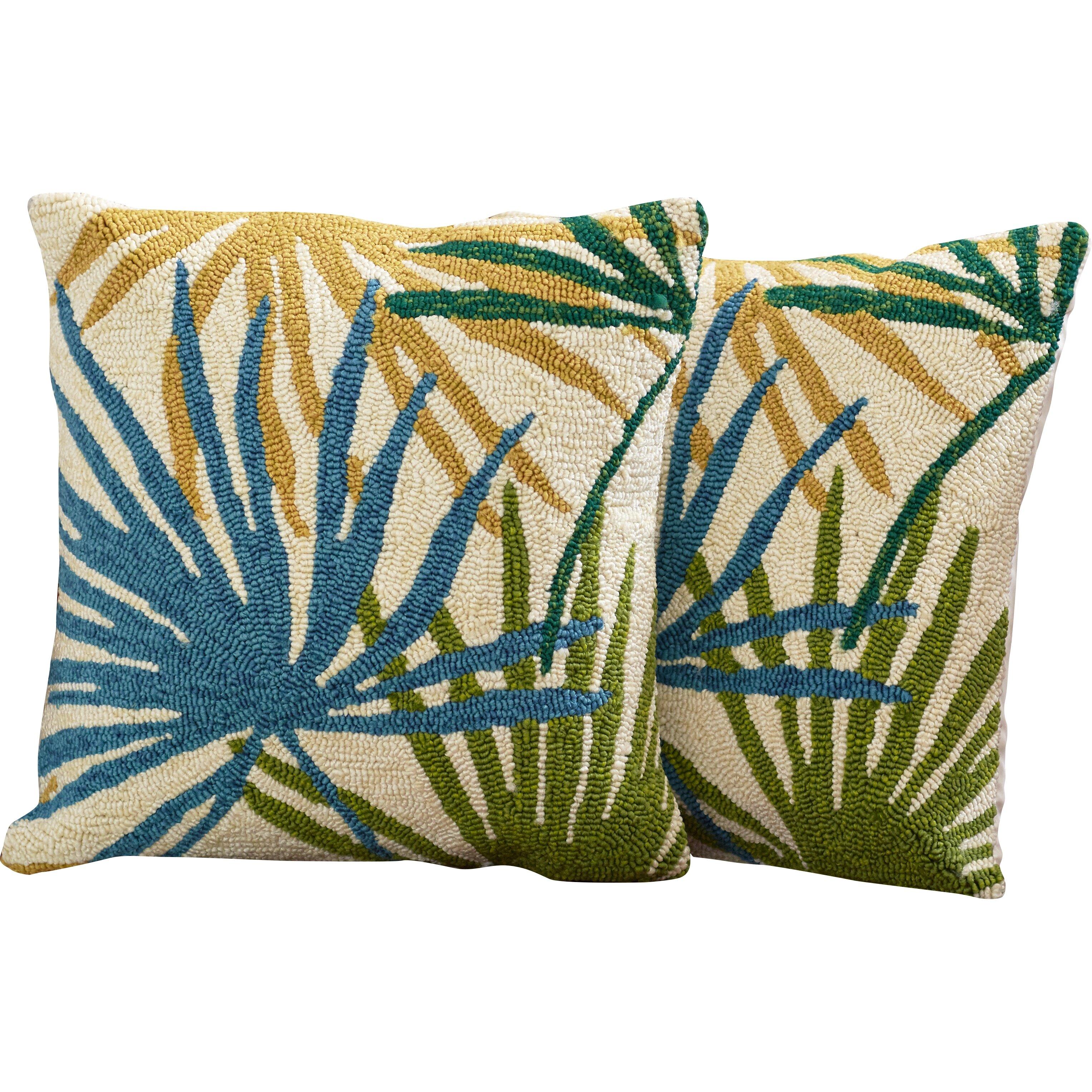 Bay Isle Home Bali Synthetic Throw Pillow & Reviews Wayfair