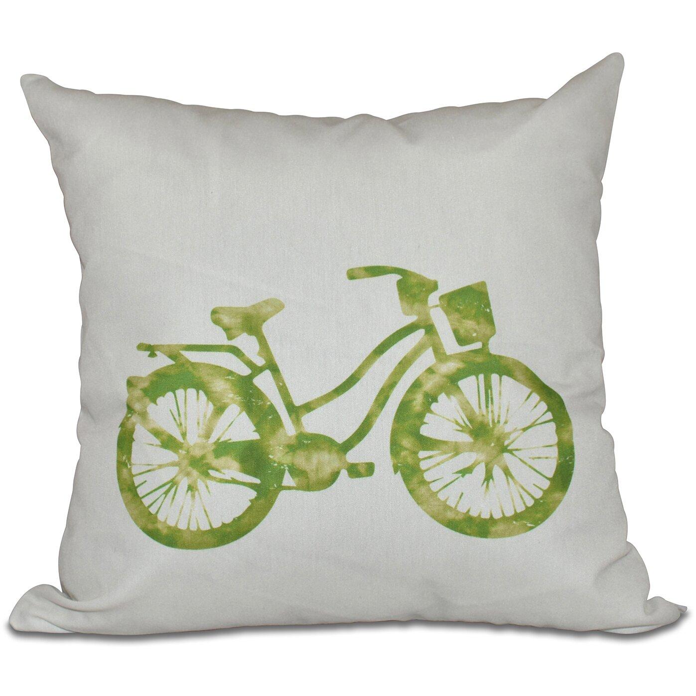 Bay Isle Home Golden Beach Life Cycle Geometric Outdoor Throw Pillow & Reviews Wayfair