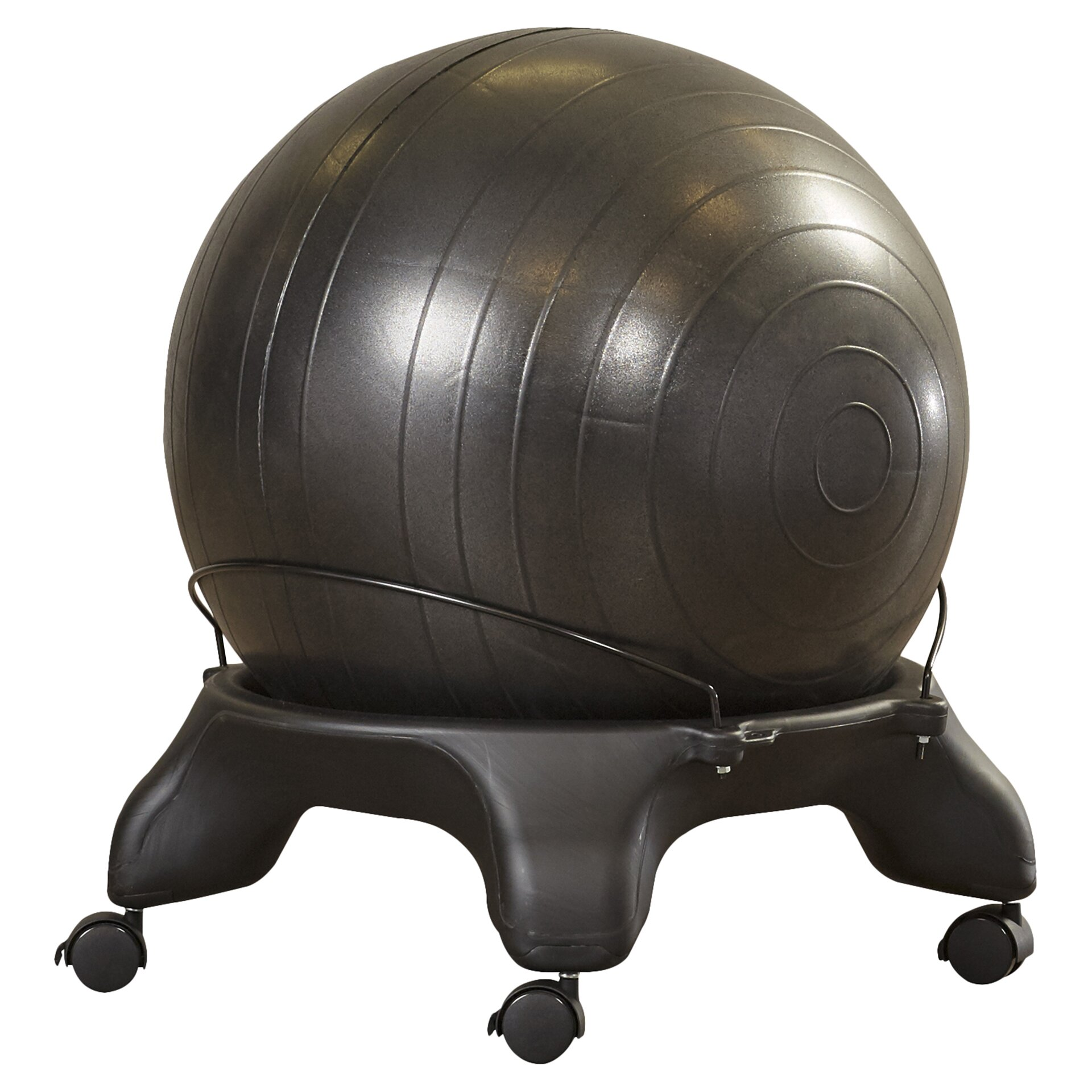 symple stuff exercise ball chair reviews wayfair. Black Bedroom Furniture Sets. Home Design Ideas