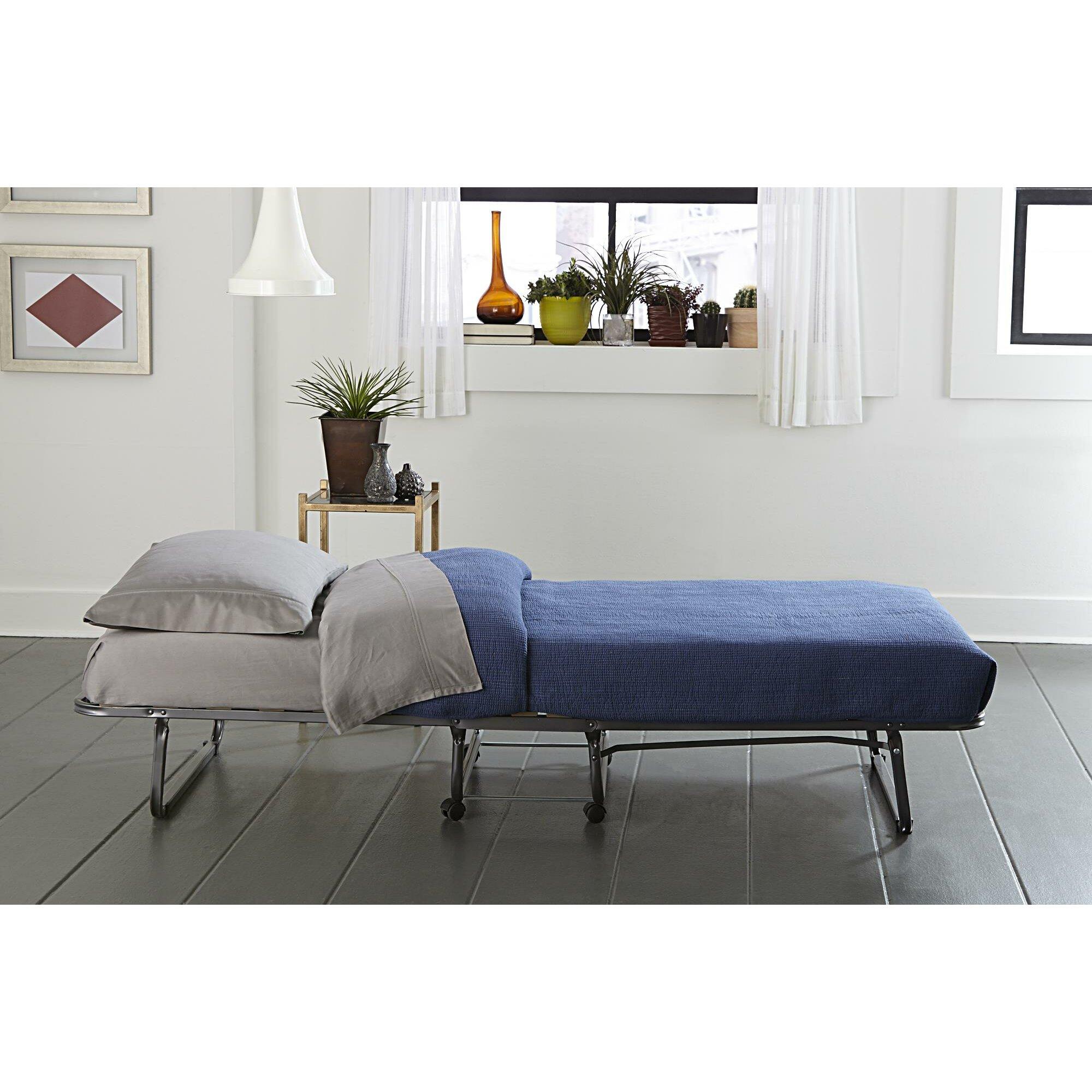 Folding Beds Reviews : Symple stuff folding bed reviews wayfair