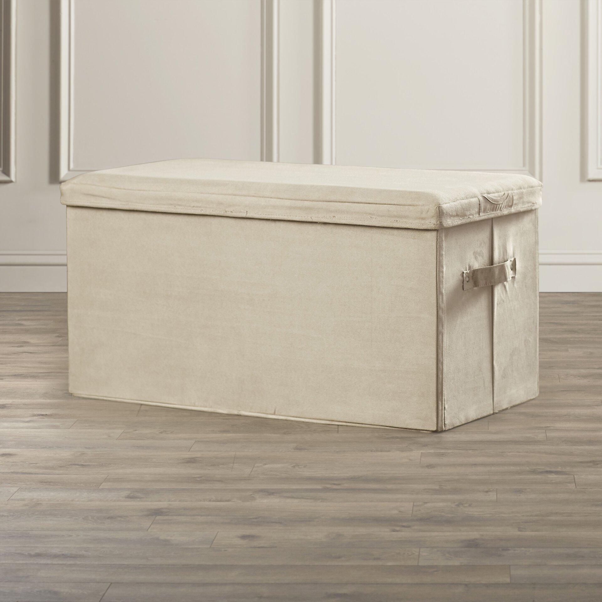 symple stuff wood storage bedroom bench reviews wayfair. Black Bedroom Furniture Sets. Home Design Ideas