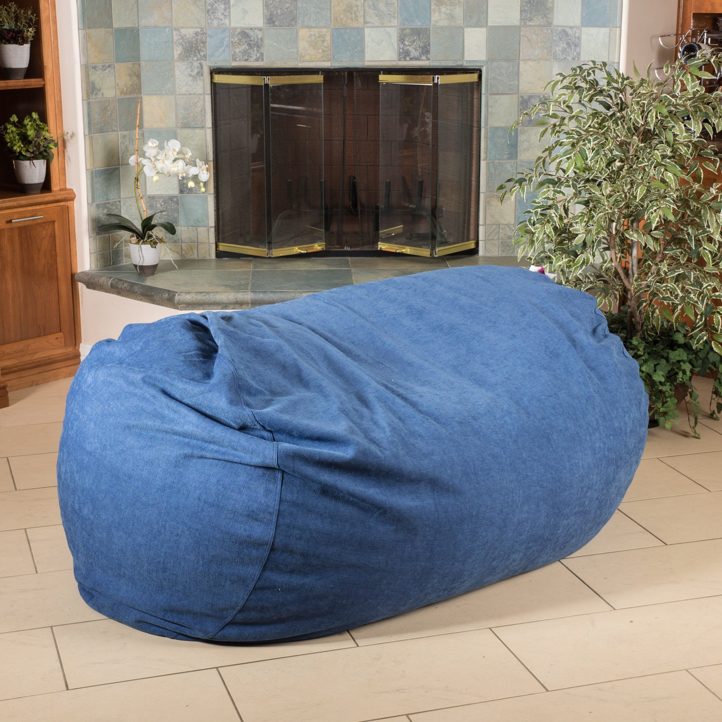 Symple Stuff Bean Bag Sofa Wayfair