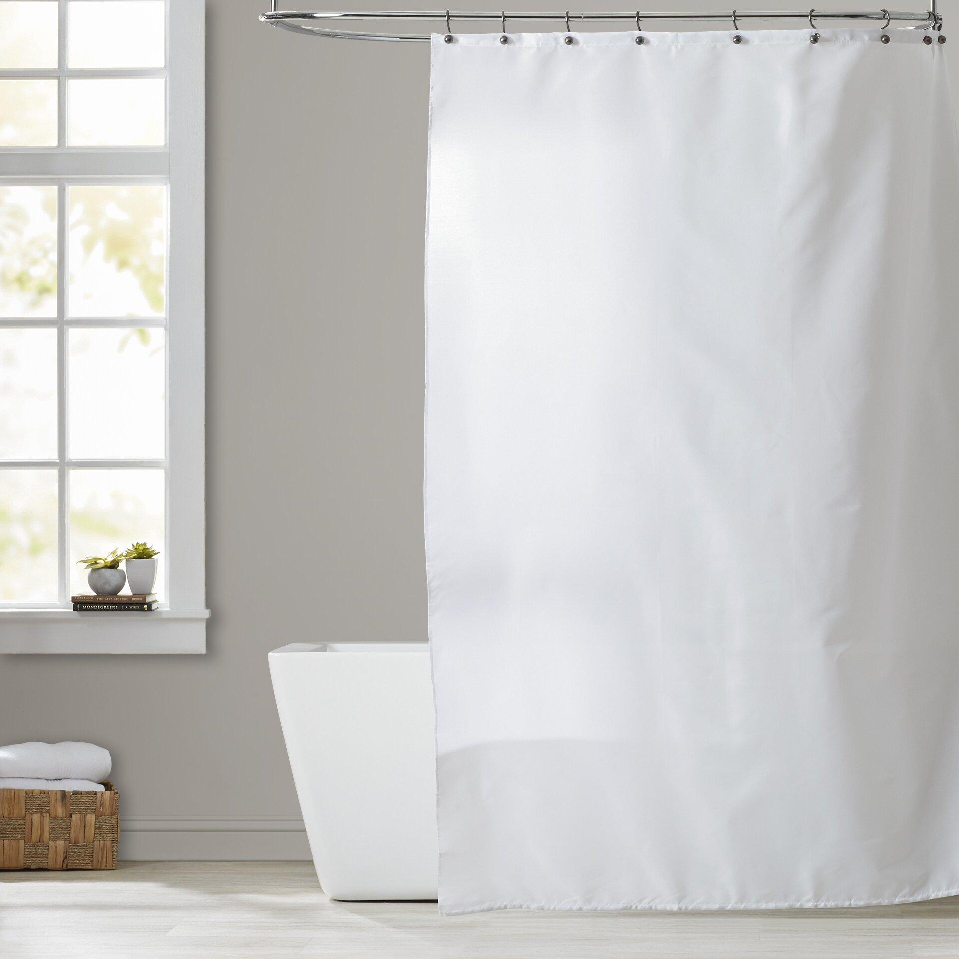 Symple Stuff Shower Curtain Liner Amp Reviews