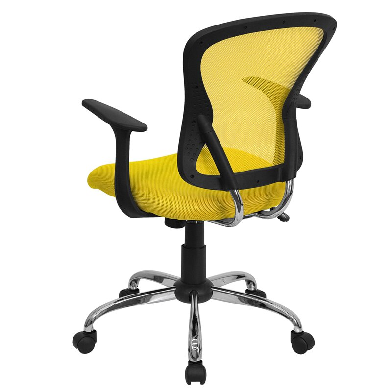 Symple Stuff Clay Mid Back Mesh fice Chair & Reviews