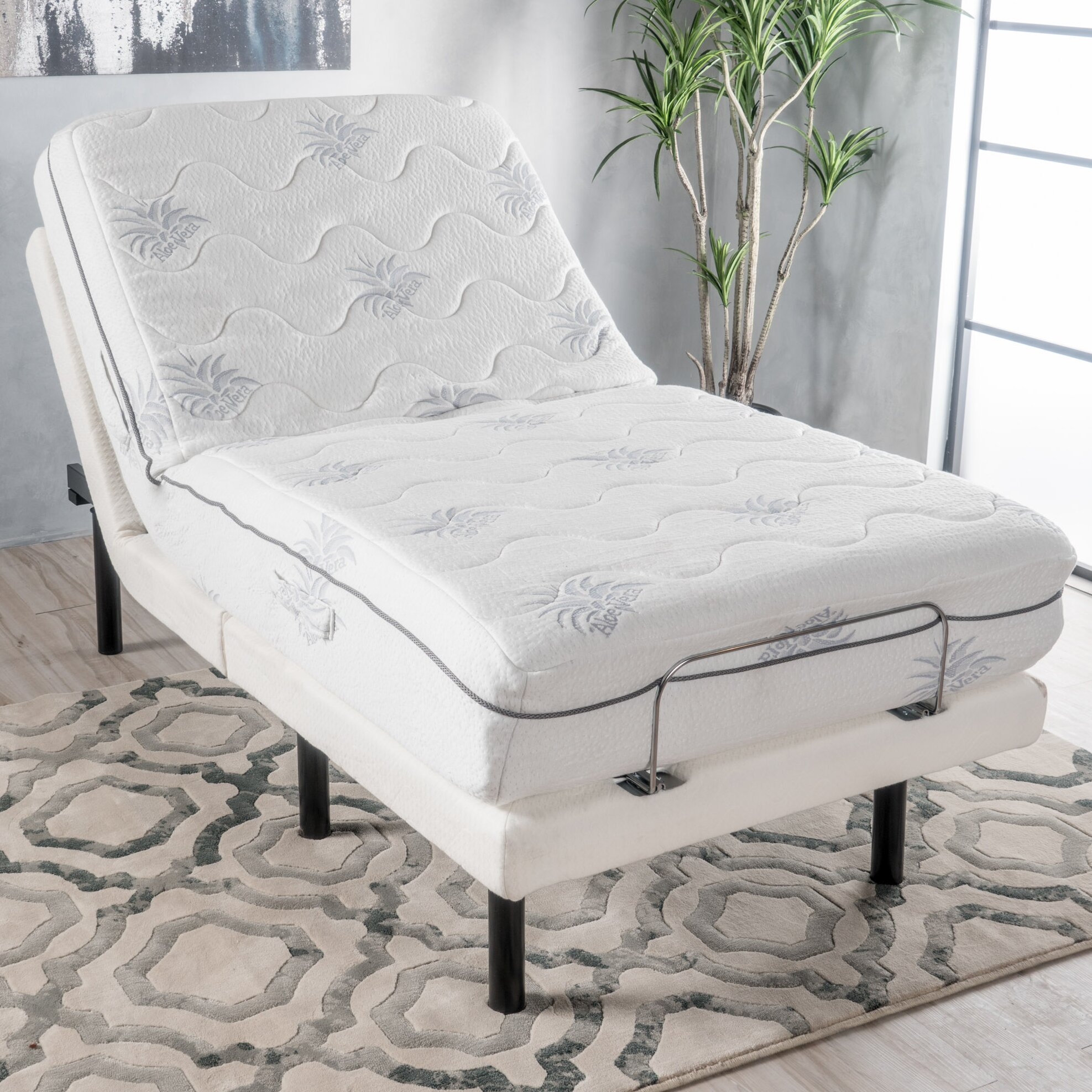 Symple Stuff Extra Long Twin Upholstered Sleigh Bed Wayfair