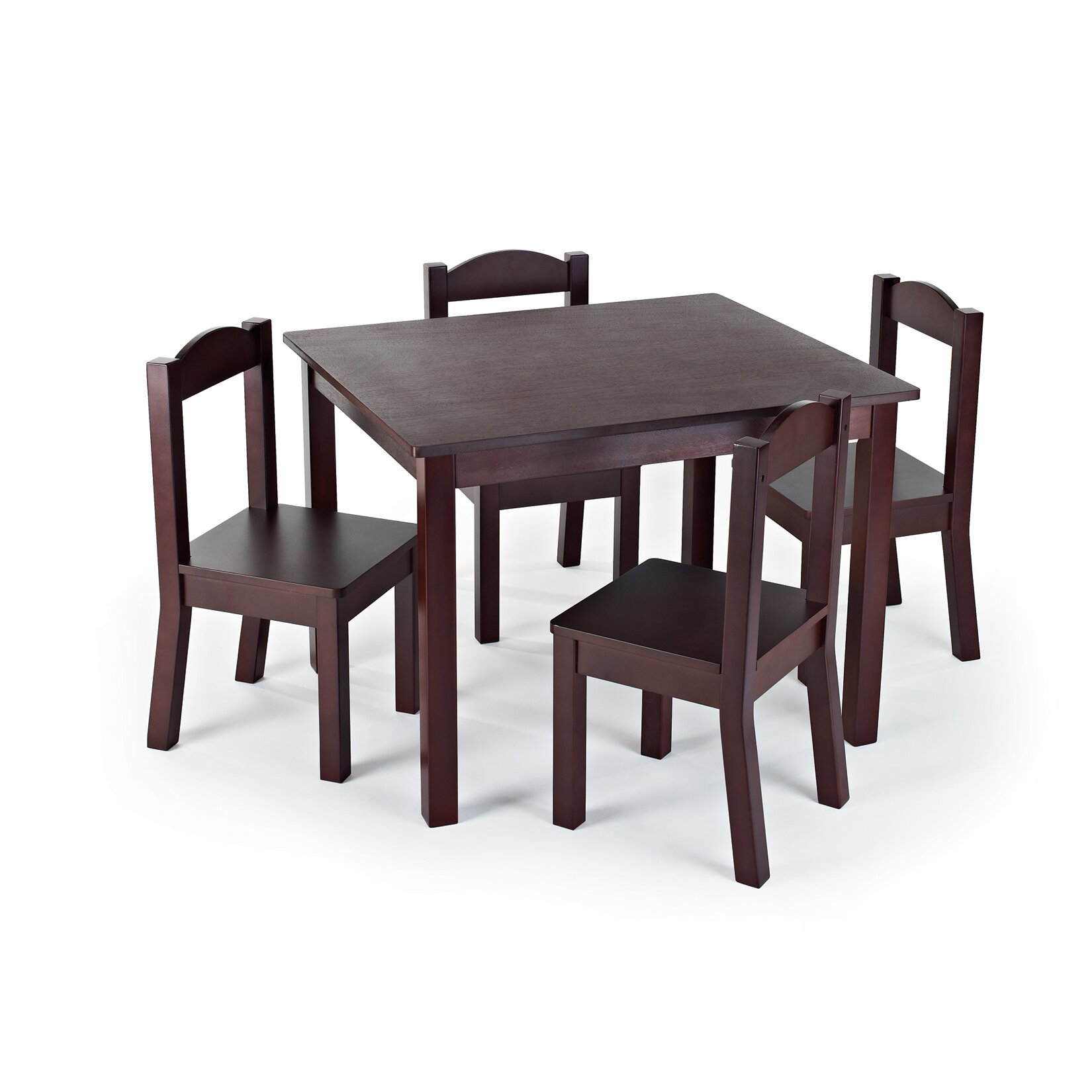 Zoomie Kids Samira Kids 5 Piece Table and Chair Set