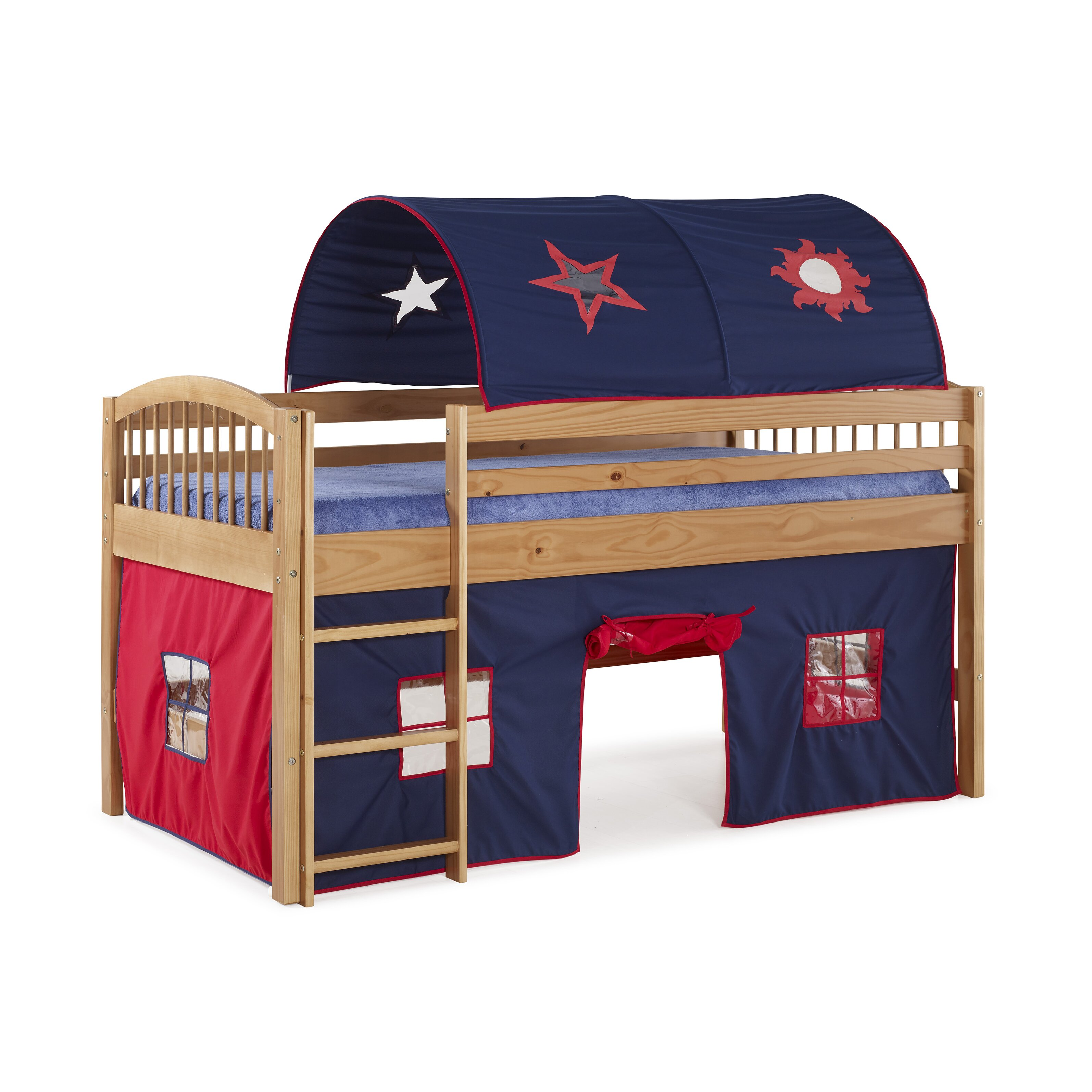 Zoomie Kids Abigail Twin Loft Bed Amp Reviews Wayfair