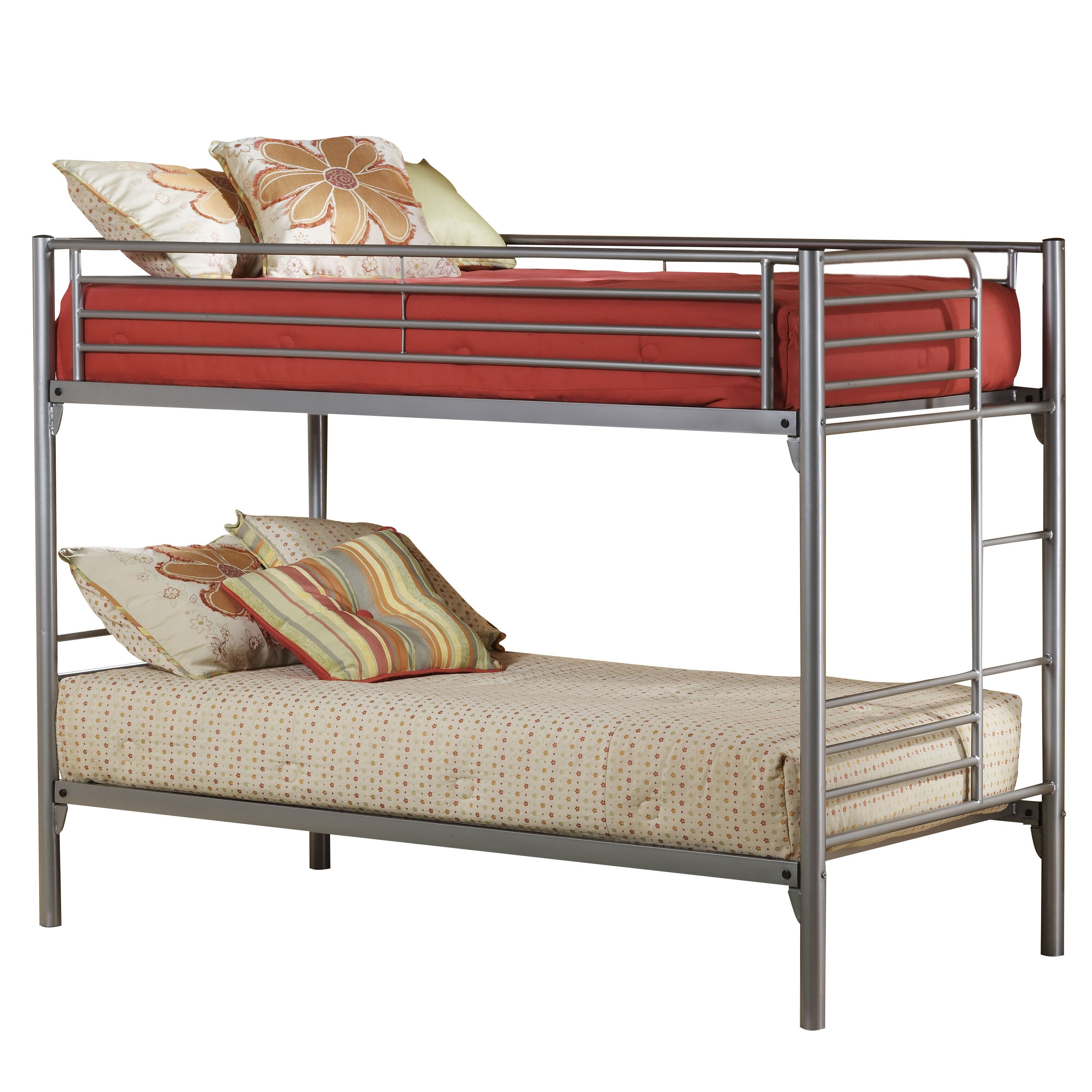 Zoomie kids harlow twin bunk bed reviews wayfair for Harlowe bed