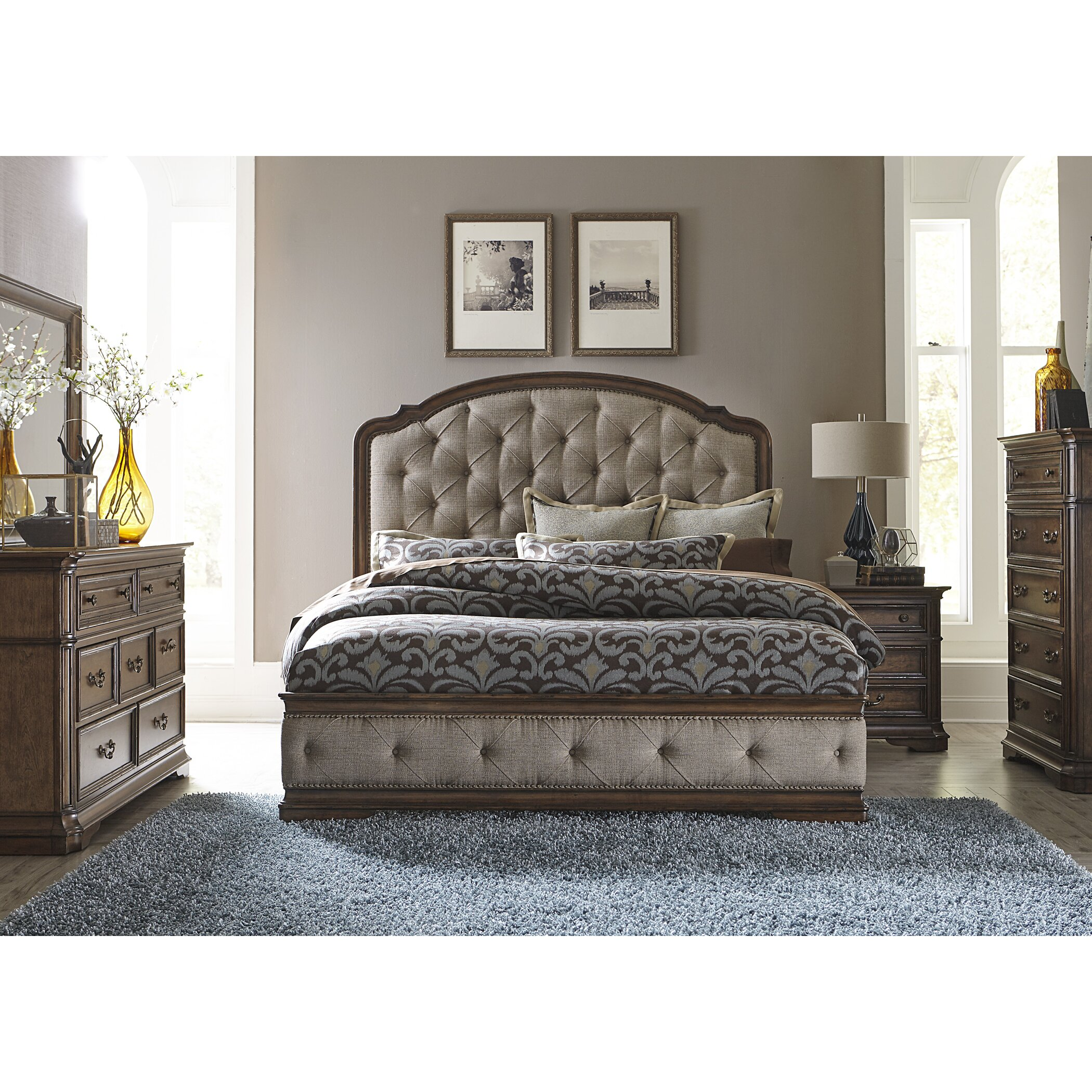 Astoria Grand Platform Customizable Bedroom Set & Reviews
