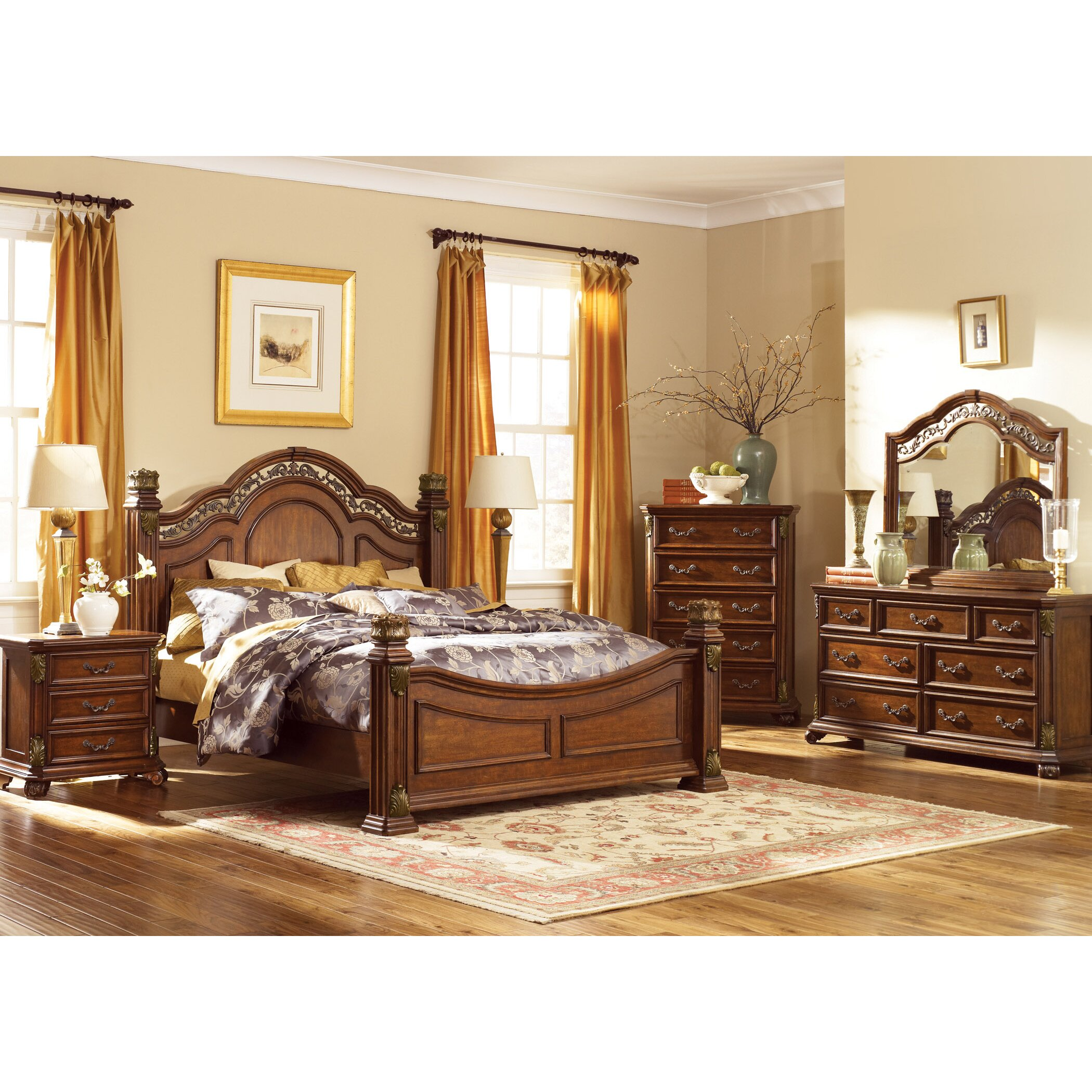 Astoria Grand Cavas Panel Customizable Bedroom Set Reviews Wayfair