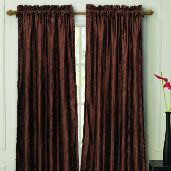 Astoria Grand Manorbier Lined Rod Pocket Single Curtain Panel Reviews Wayfair