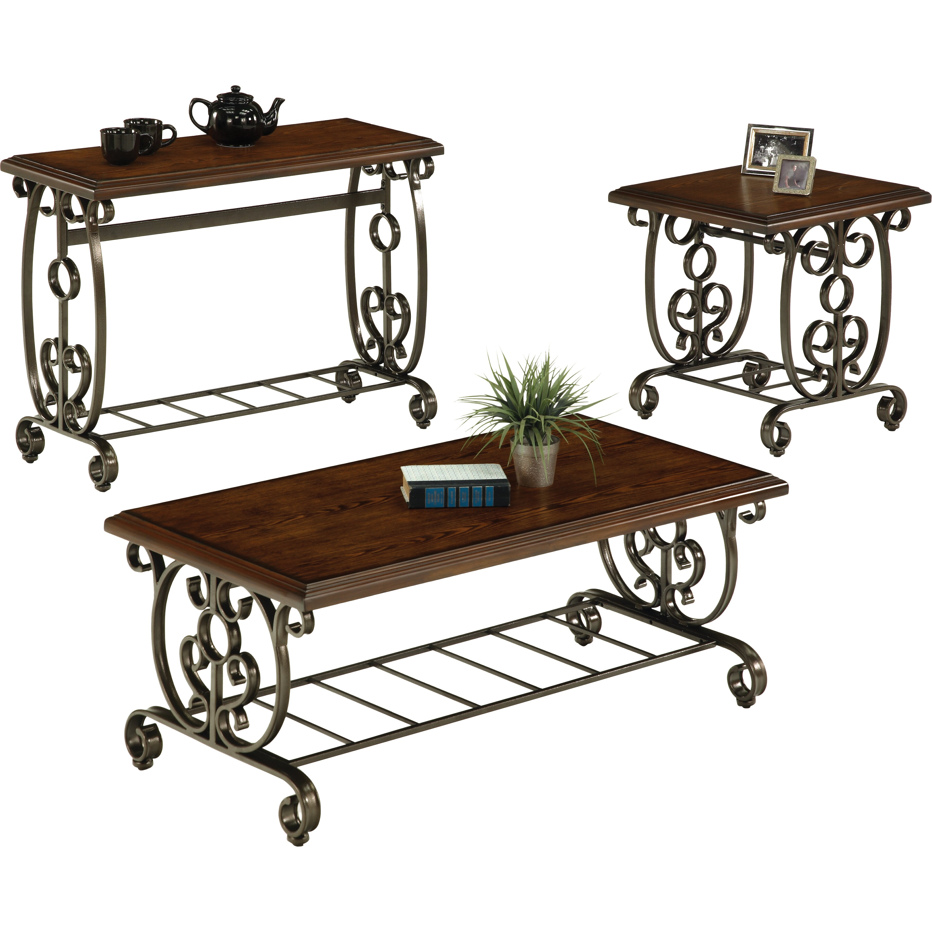 Astoria Grand Netherby Coffee Table Set & Reviews