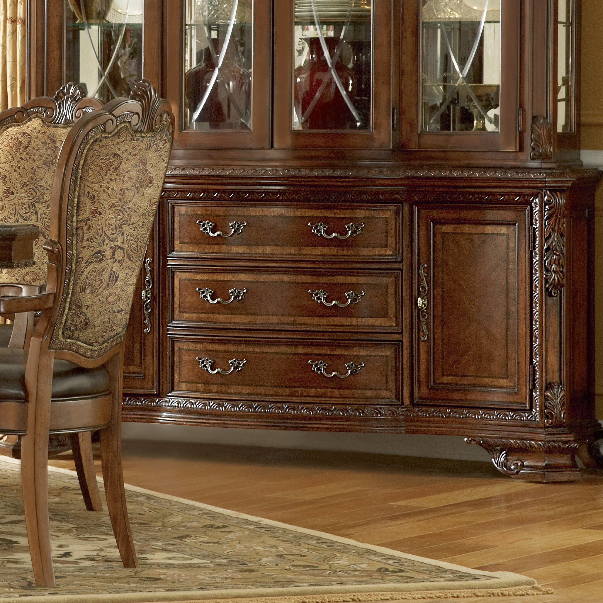 astoria grand brussels china cabinet base reviews wayfair. Black Bedroom Furniture Sets. Home Design Ideas