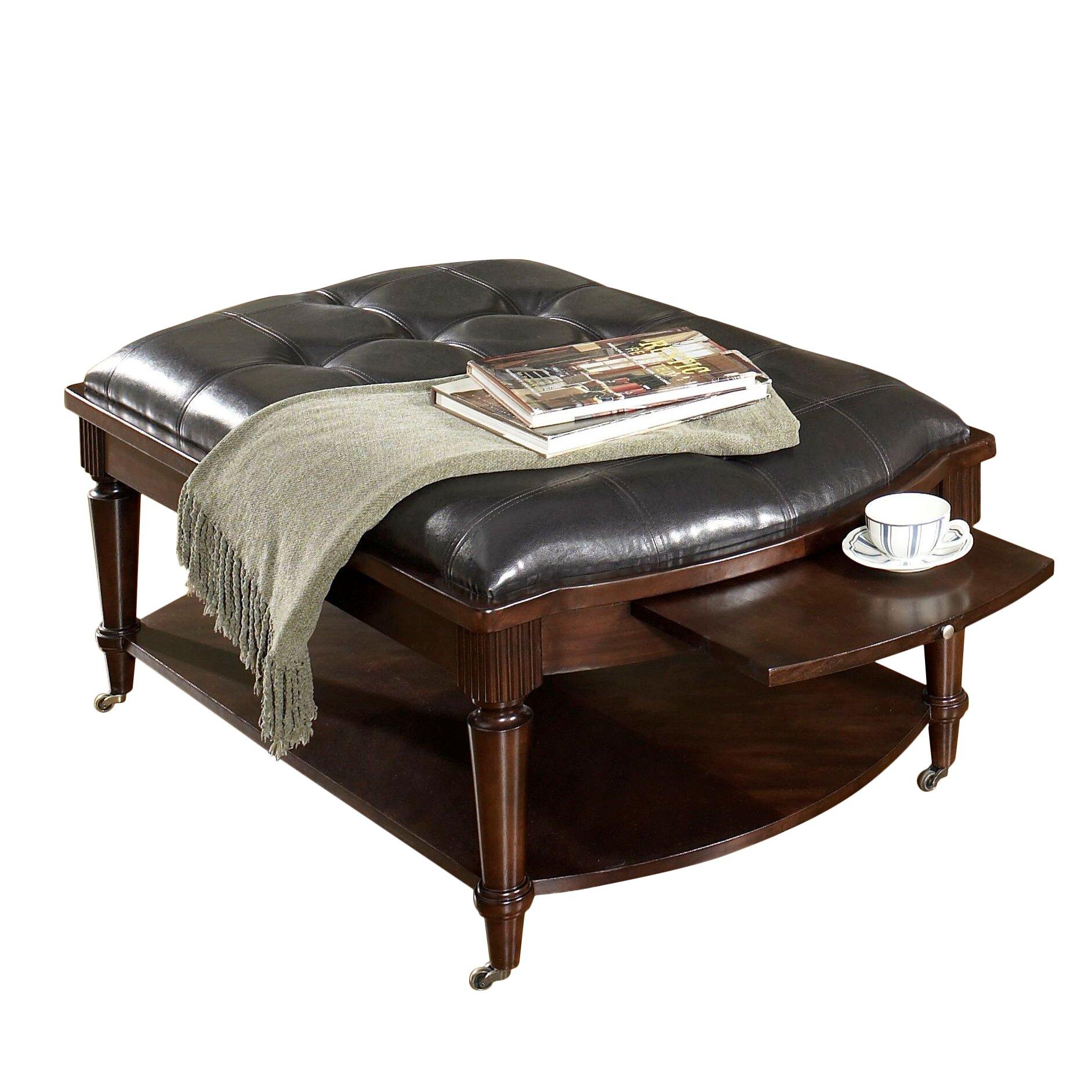 Astoria Grand Lavinia Coffee Table with Cushion & Reviews ...