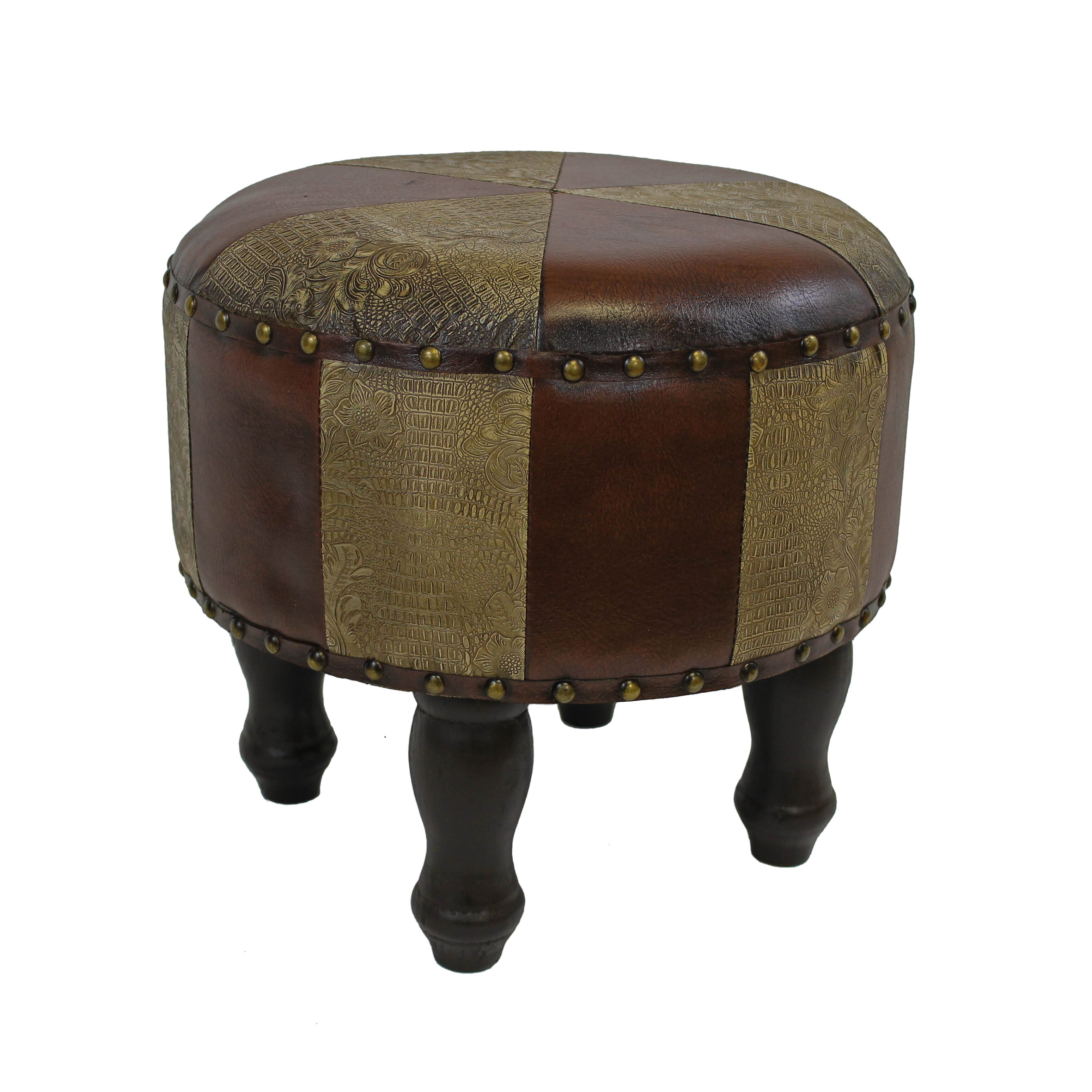 astoria grand stone castle 15 round ottoman reviews. Black Bedroom Furniture Sets. Home Design Ideas