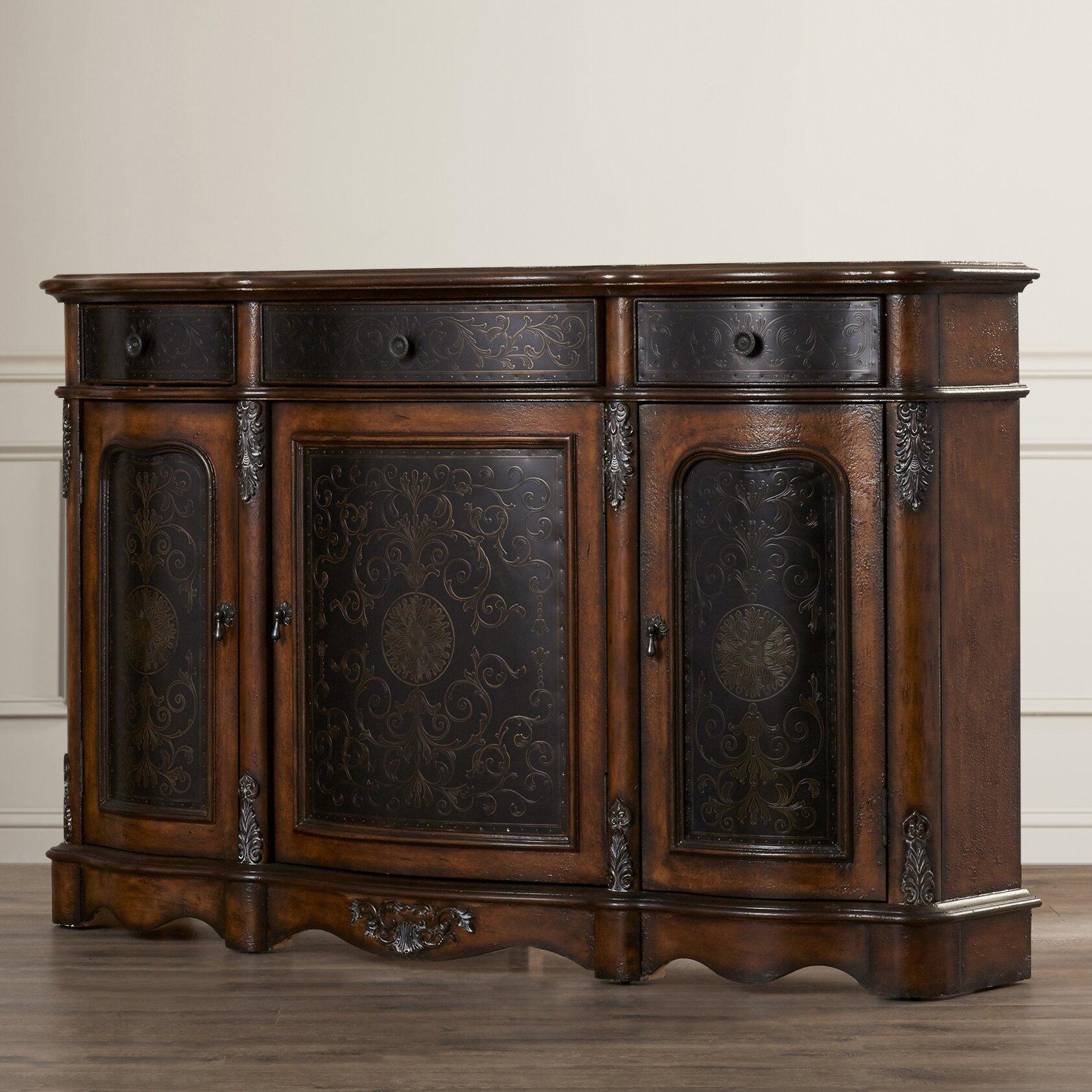 Astoria Grand Loews 3 Drawer Cabinet & Reviews | Wayfair