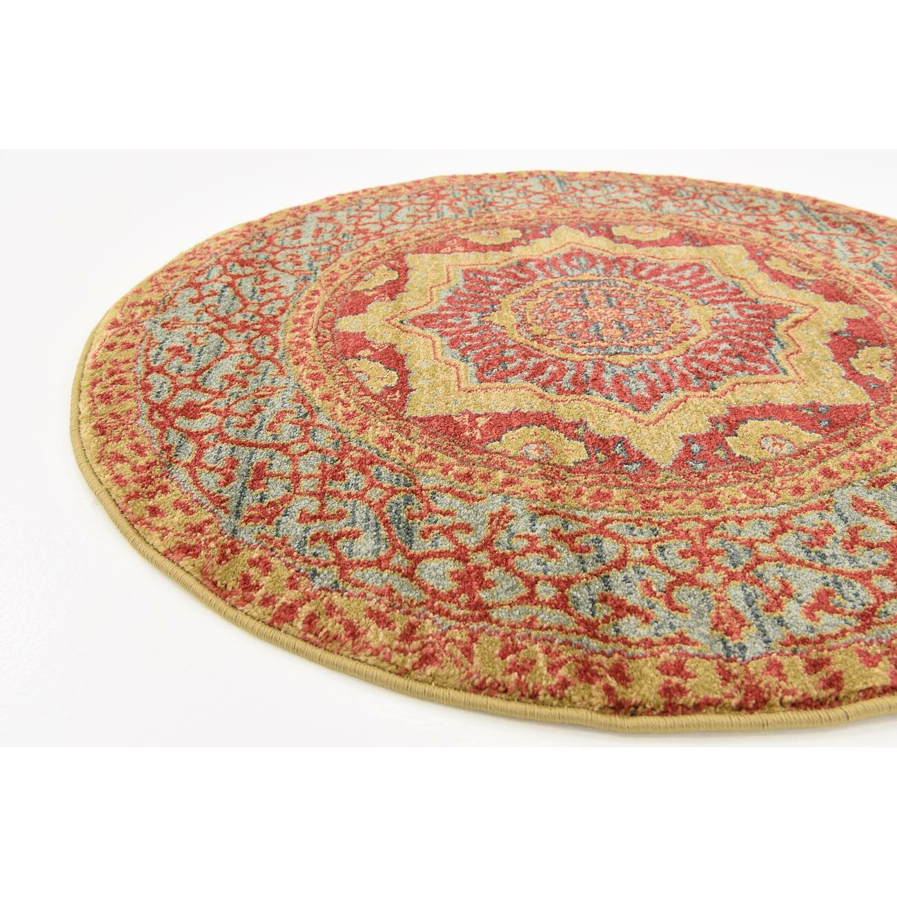 Astoria grand laurelwood red area rug reviews wayfair for Laurelwood