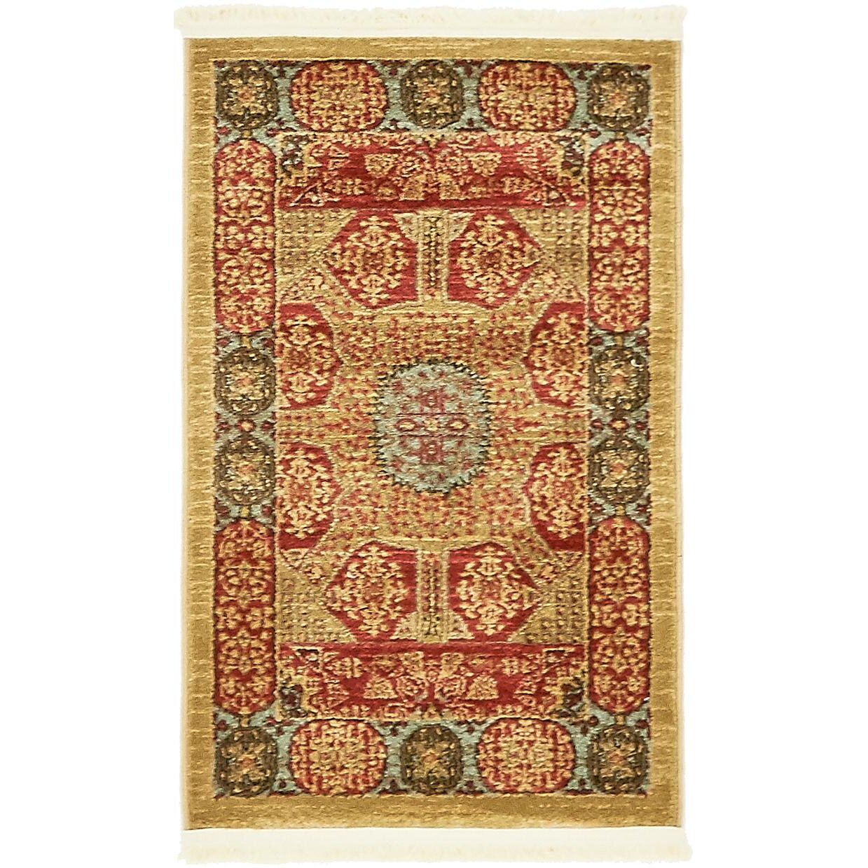 astoria grand laurelwood red area rug reviews wayfair
