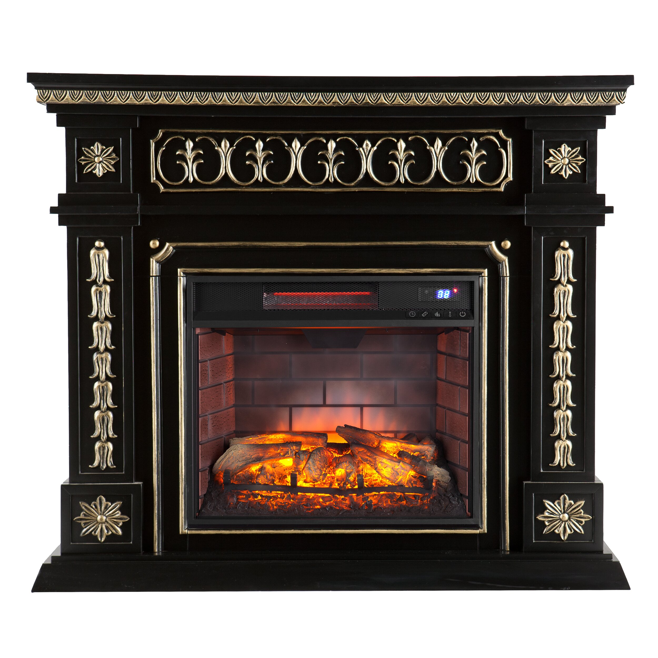 Astoria Grand Dolson Infrared Electric Fireplace & Reviews