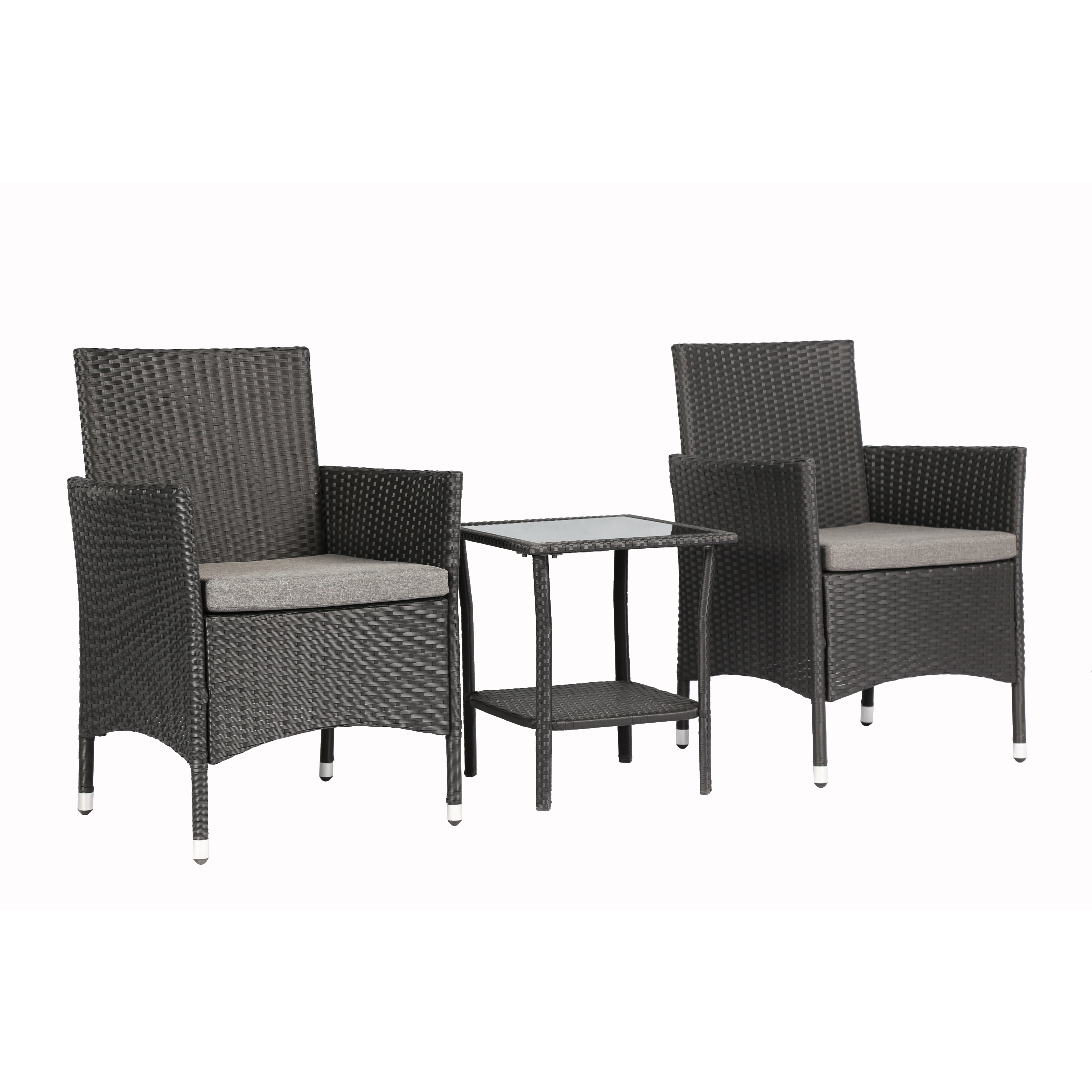 Very Impressive portraiture of Baner Garden 3 Piece Dining Set with Cushions & Reviews Wayfair with #6C665F color and 5472x5472 pixels