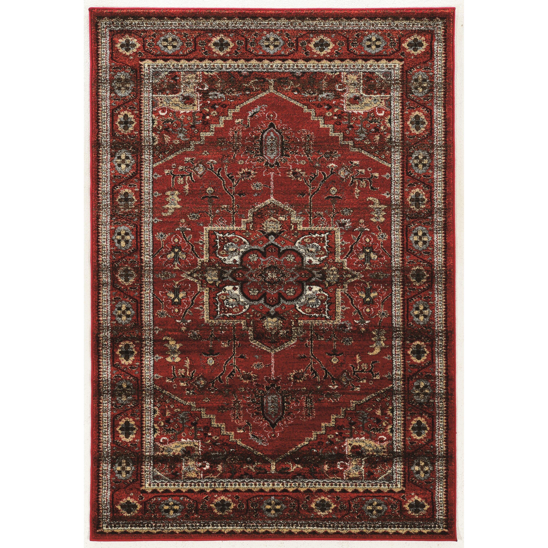 world menagerie kaul red gray beige area rug reviews wayfair. Black Bedroom Furniture Sets. Home Design Ideas