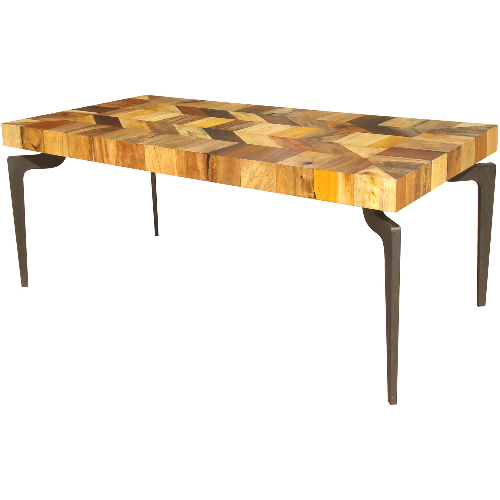 World menagerie spiva dining table wayfair for Wayfair dining table