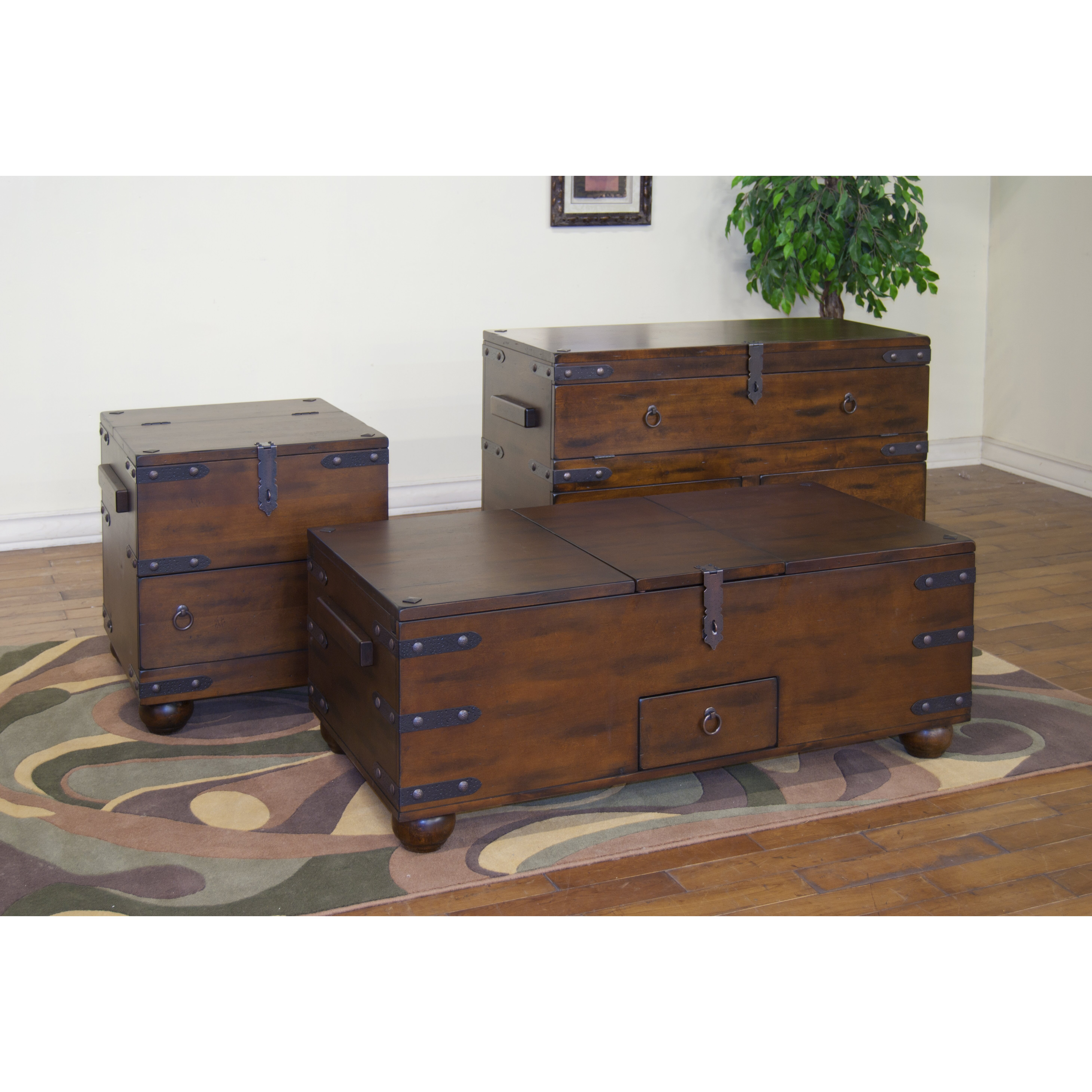 World Menagerie Farish Trunk Coffee Table Reviews Wayfair