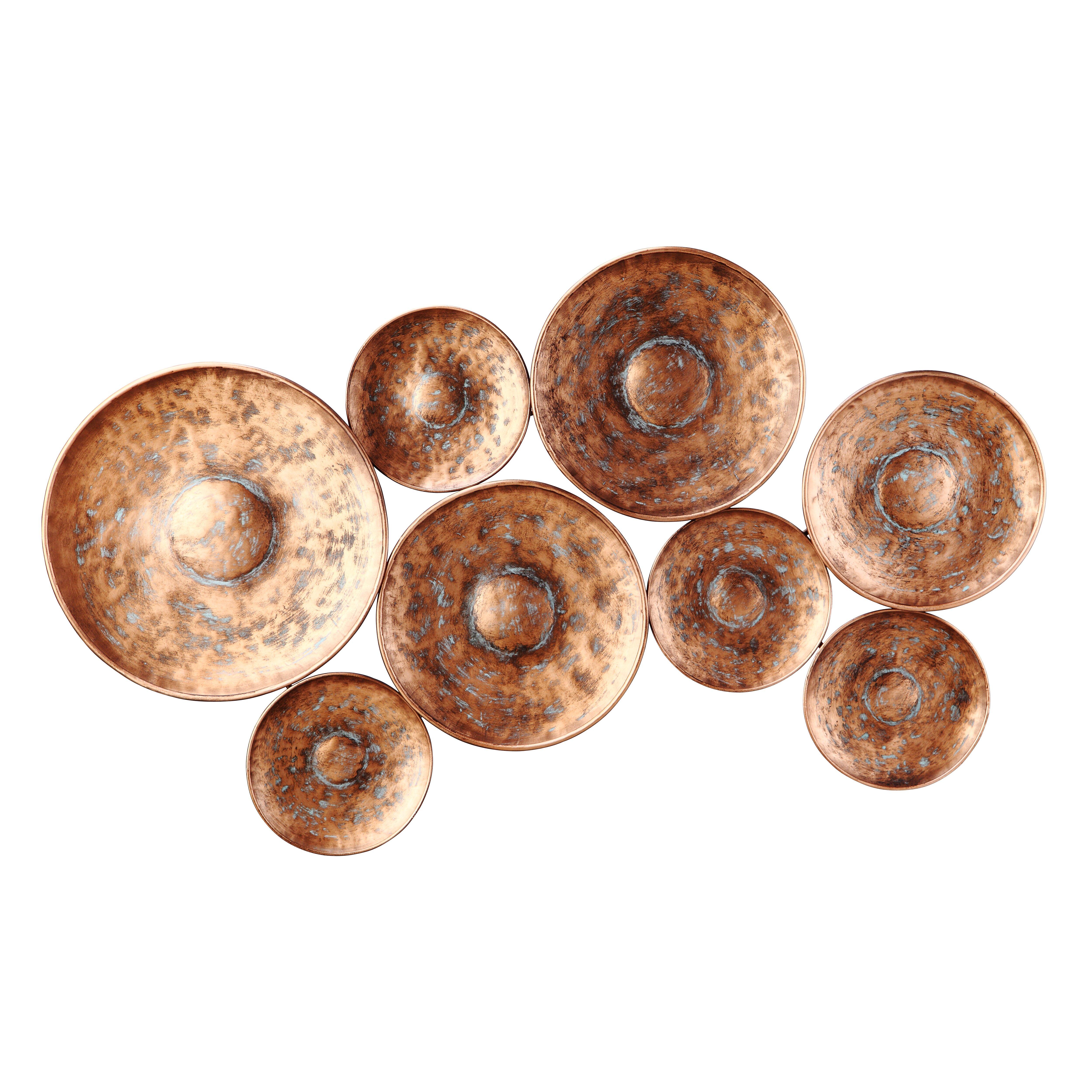 Bronze Wall Decor Similiar 3 Disk Wall Art Discs Keywords