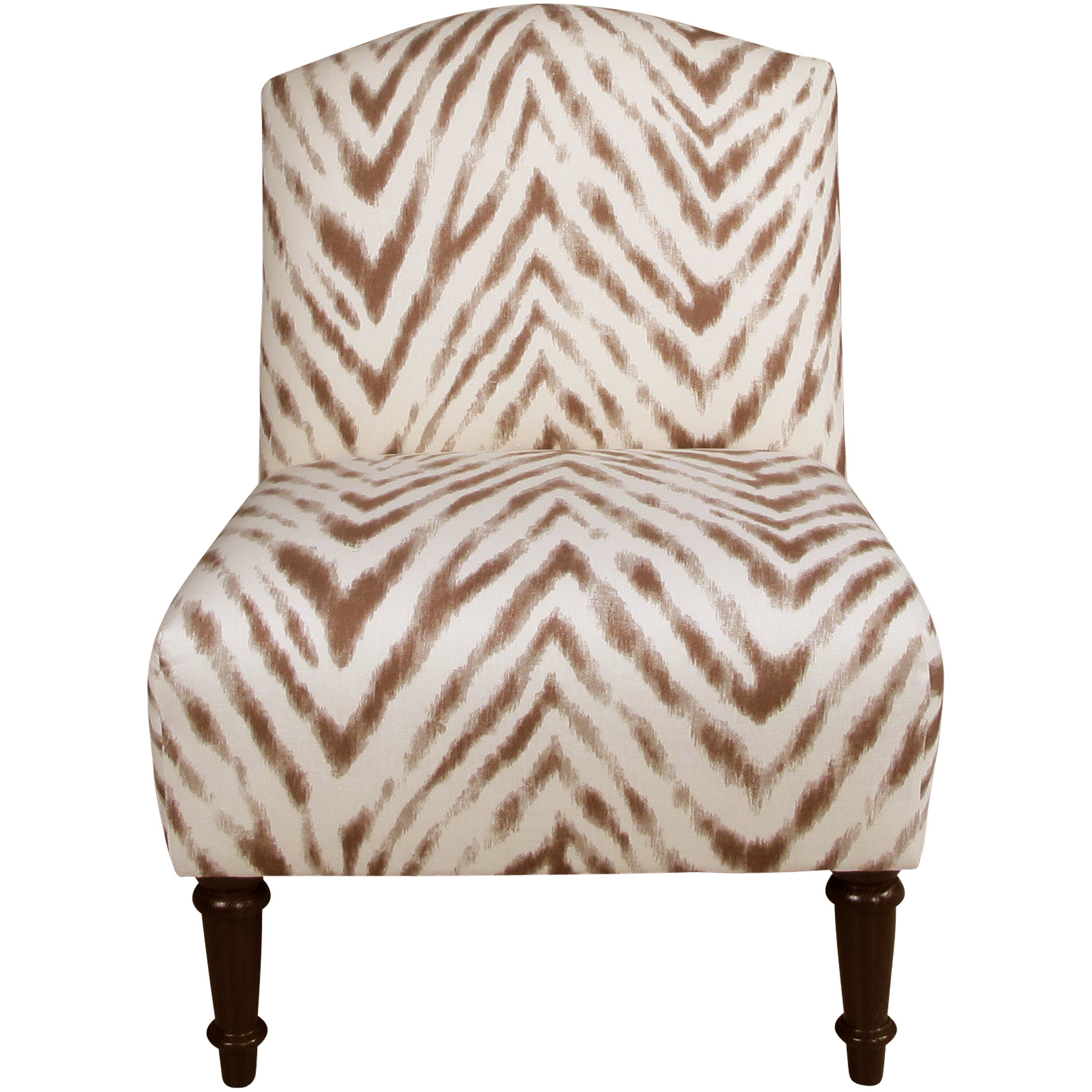 Leopard Print Slipper Chair Powell Slipper Zebra Print