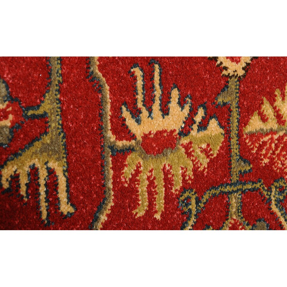 world menagerie anwar red area rug