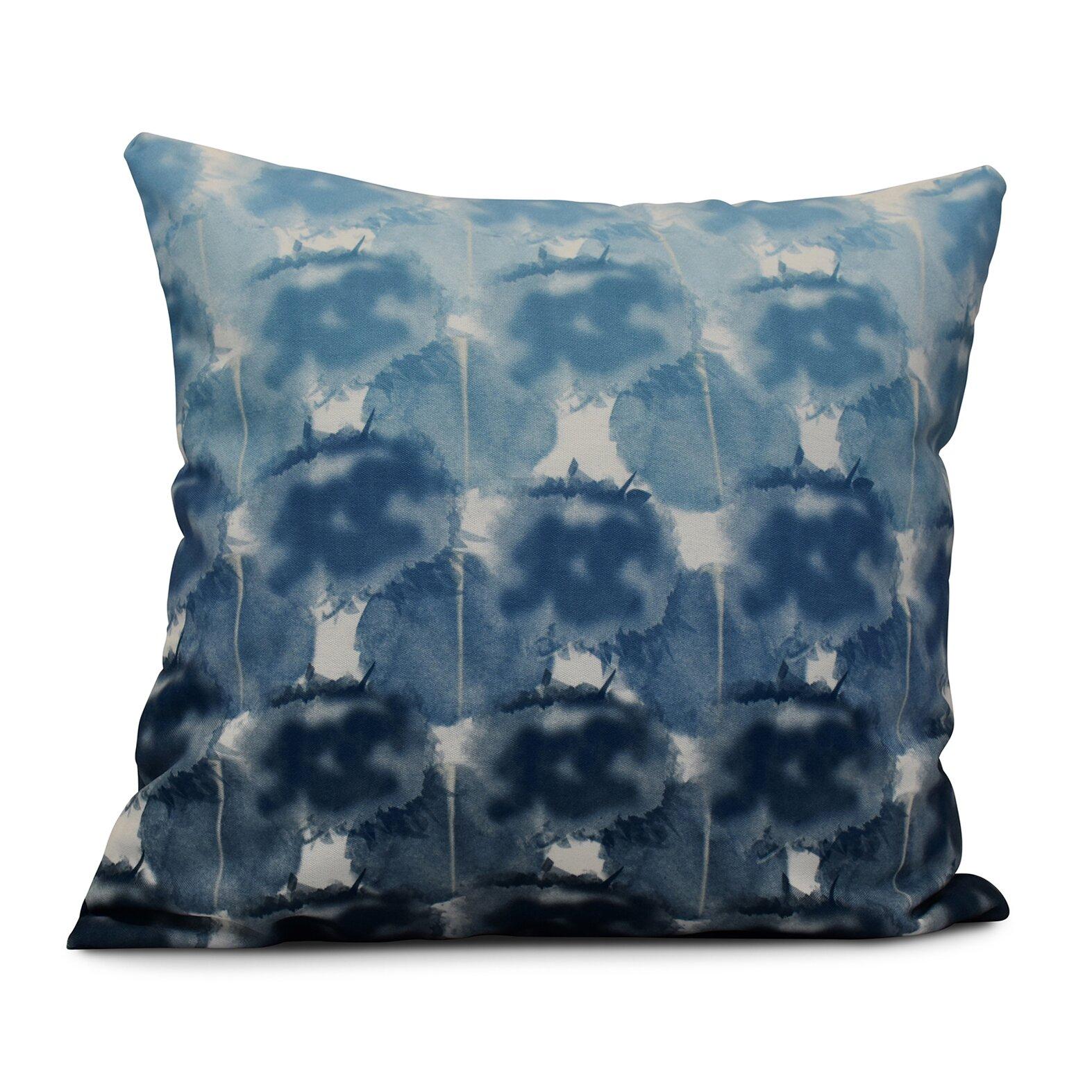 World Menagerie Rafia Beach Clouds Indoor/Outdoor Throw Pillow Wayfair