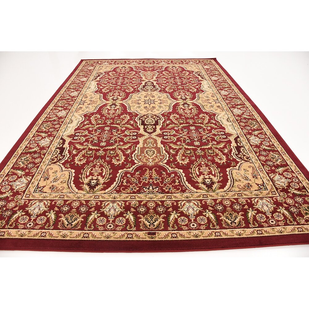World Menagerie Anoual Red Area Rug & Reviews