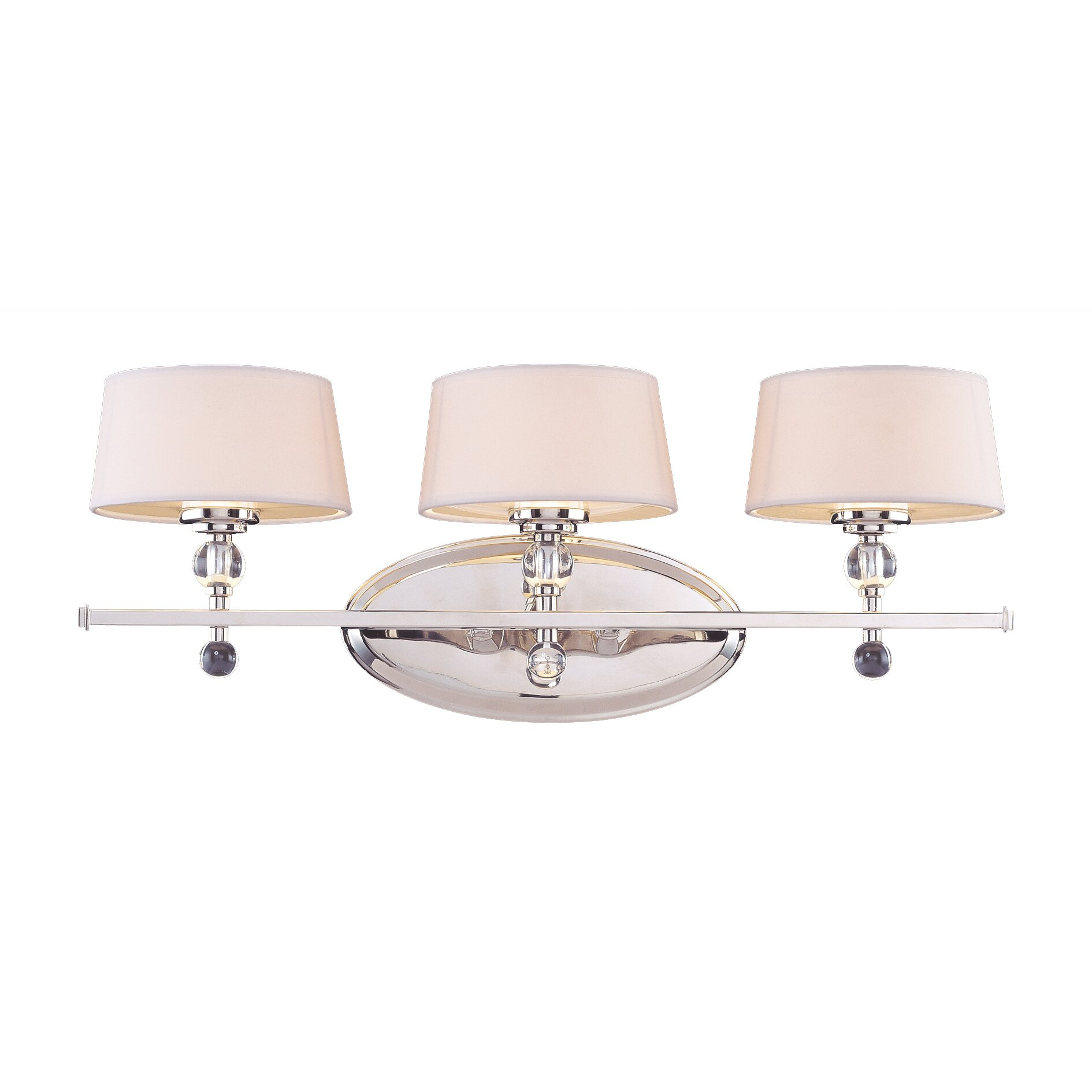 Mercer41 Knisley 3 Light Bath Vanity Light & Reviews