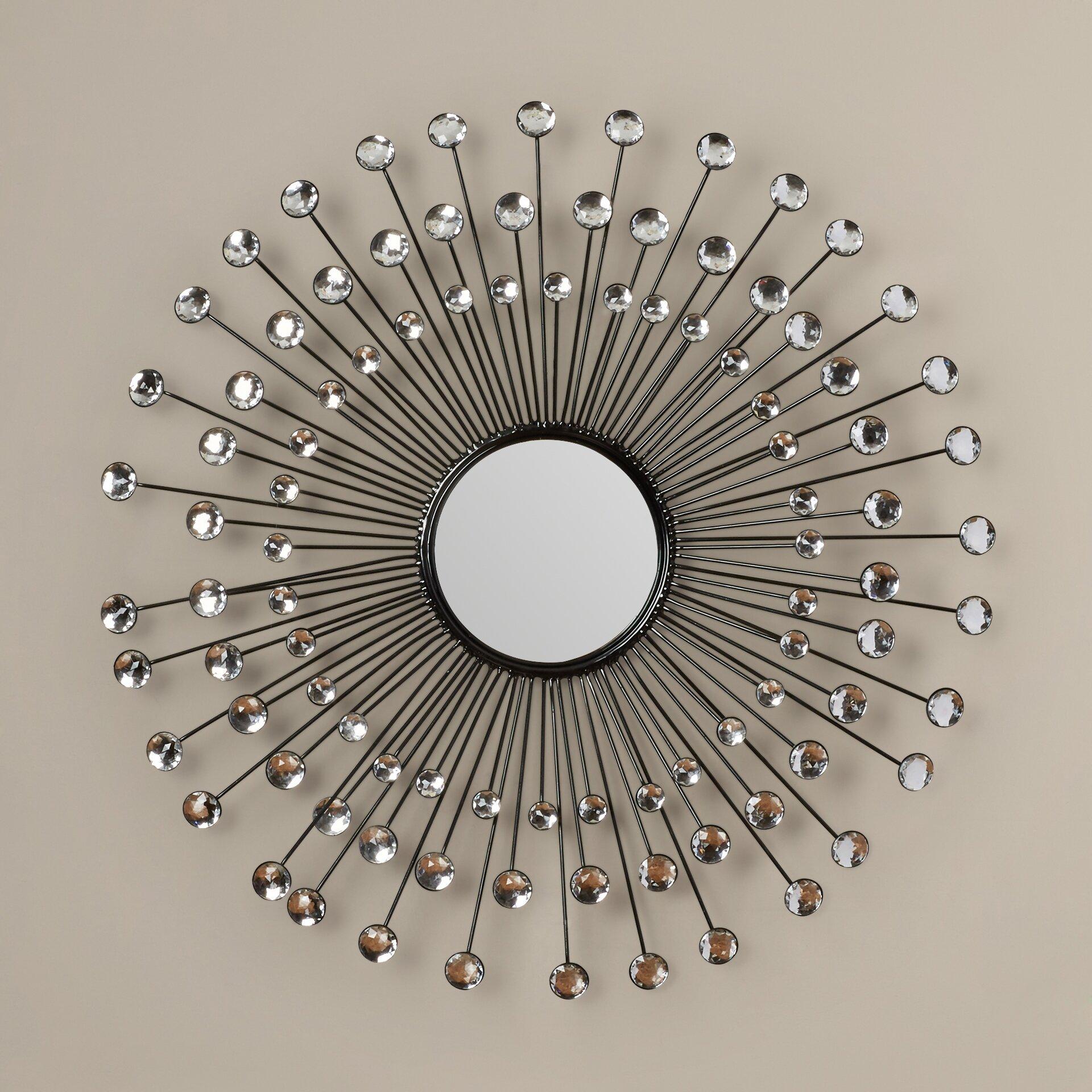 Mercer41 Beatty Modern Sunburst Wall Mirror Amp Reviews