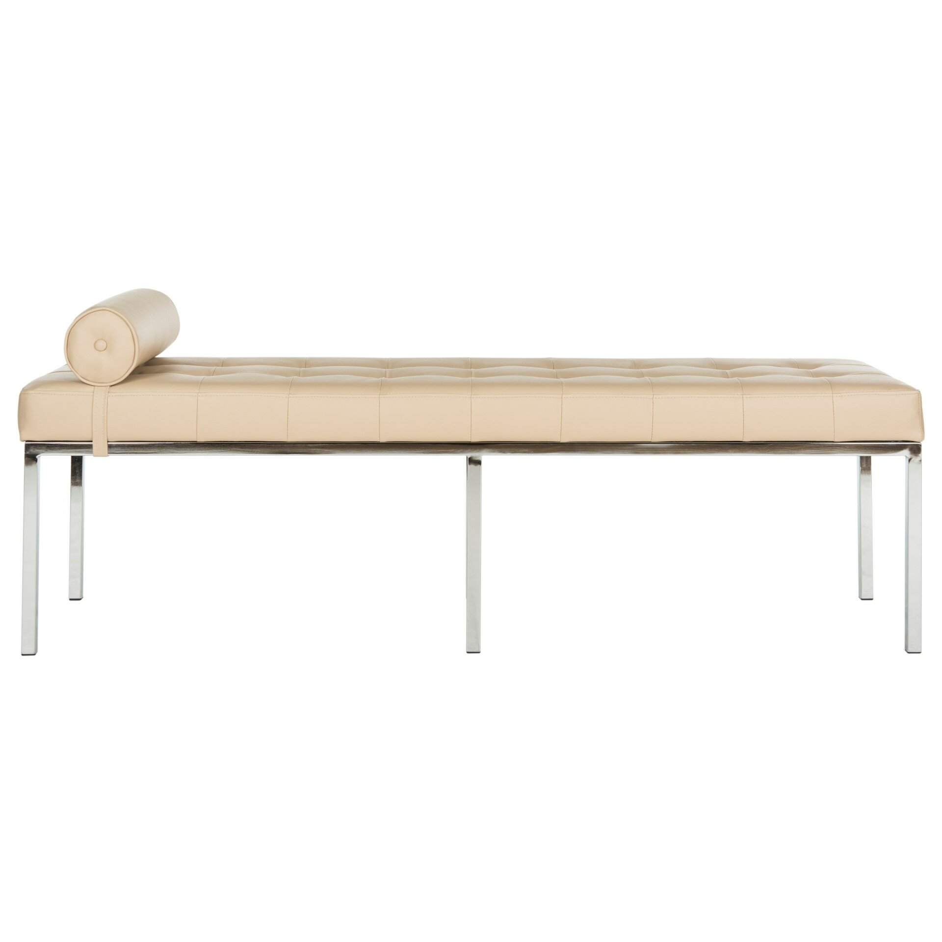 Mercer41 warnant upholstered bedroom bench reviews wayfair for Bedroom upholstered bench