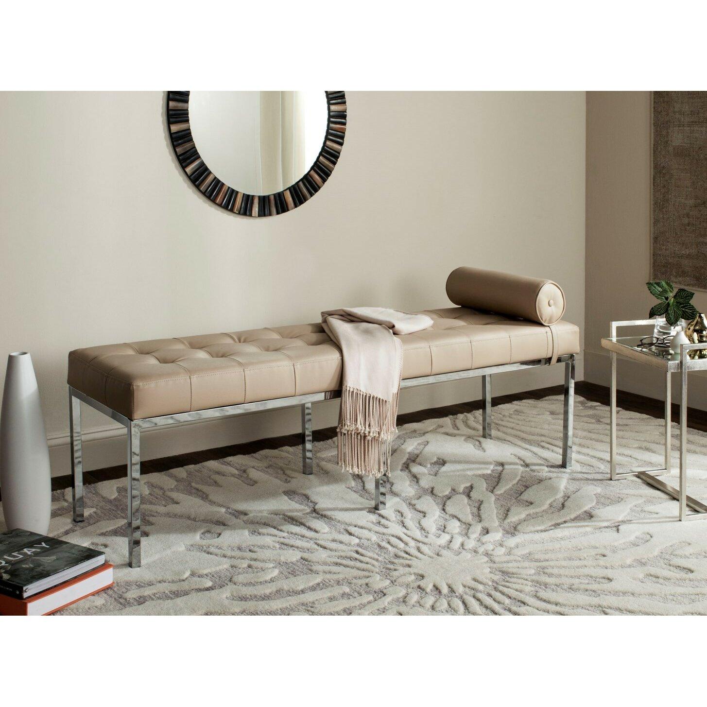 Mercer41 Warnant Upholstered Bedroom Bench & Reviews