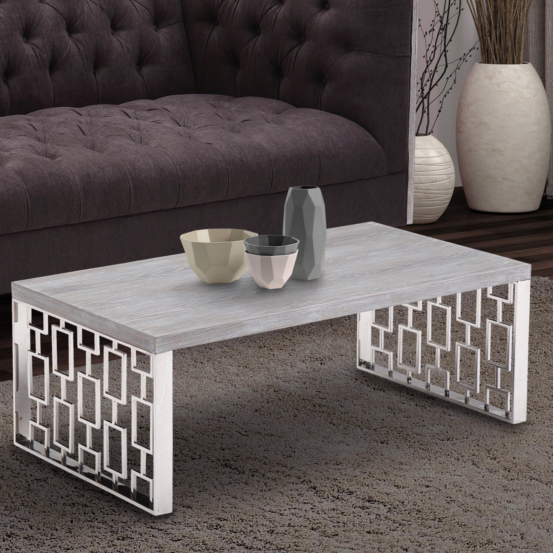 Copeland Square Coffee: Mercer41 Wick Coffee Table