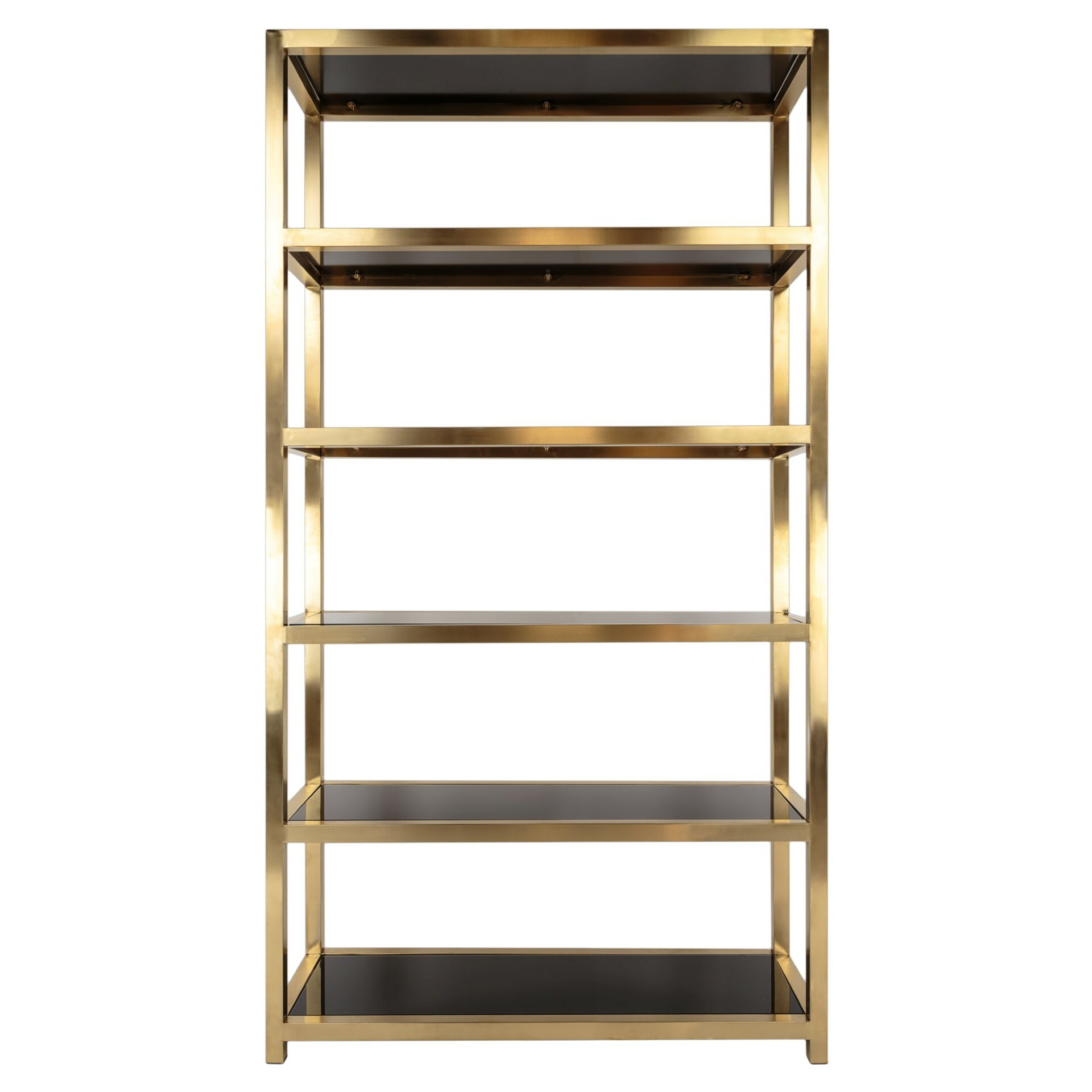 mercer41 86 etagere bookcase wayfair. Black Bedroom Furniture Sets. Home Design Ideas