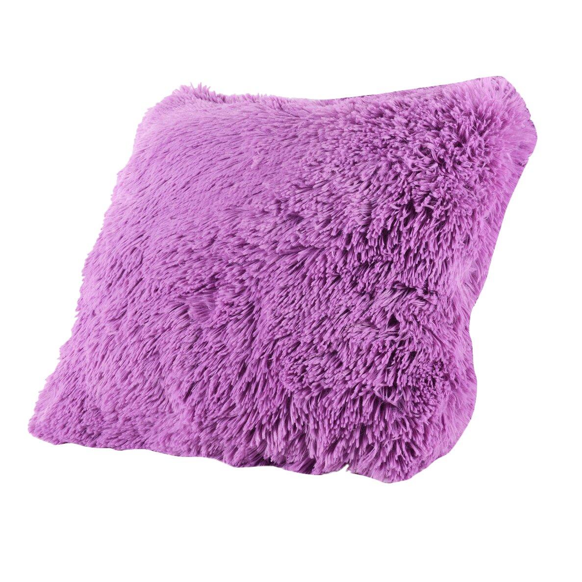 Big Comfortable Throw Pillows : Mercer41 Carnot Very Soft and Comfy Plush Throw Pillow & Reviews Wayfair.ca