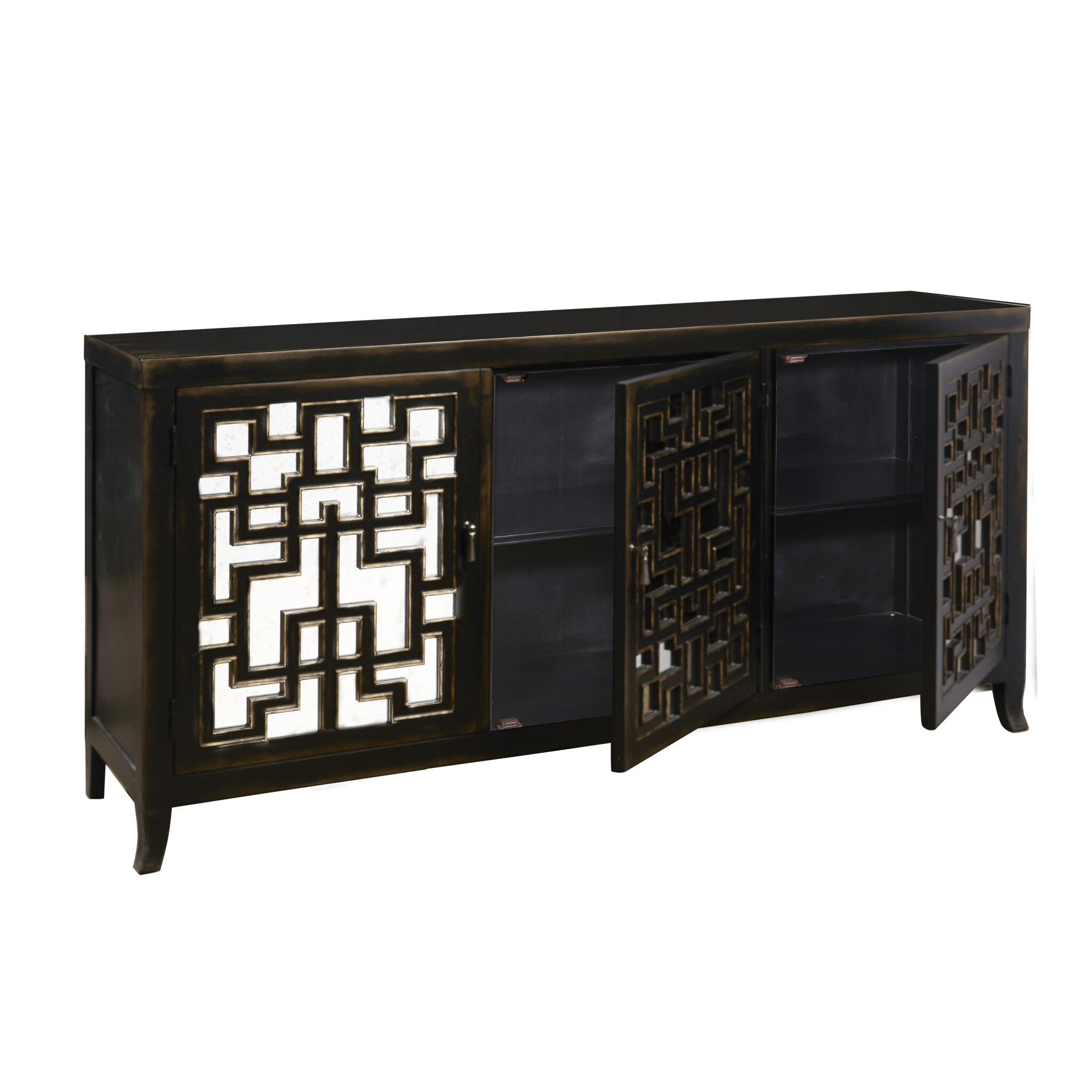Photo Venetian Bedside Tables Images Park Mirrored