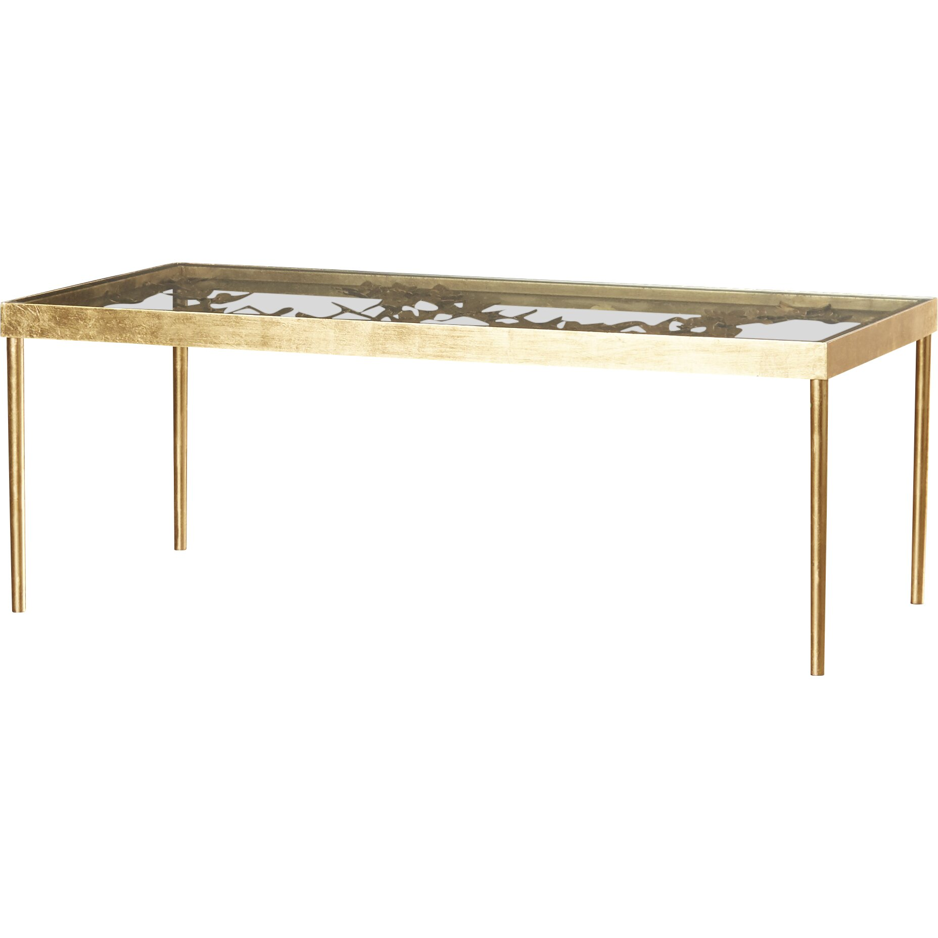 Coffee Table With Tray Top: Mercer41 Acton Coffee Table With Tray Top & Reviews