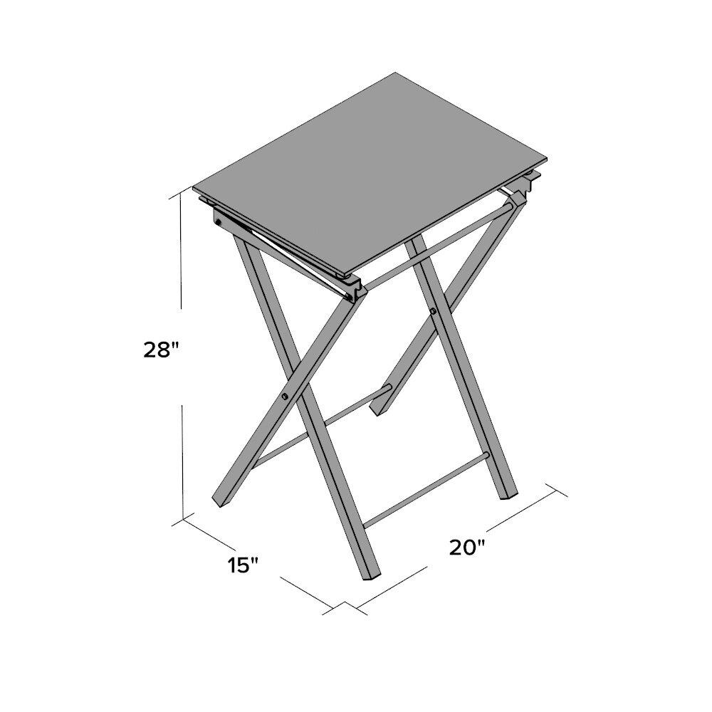 Mercer41 Kirch Mari Folding Tray Table Reviews Wayfair