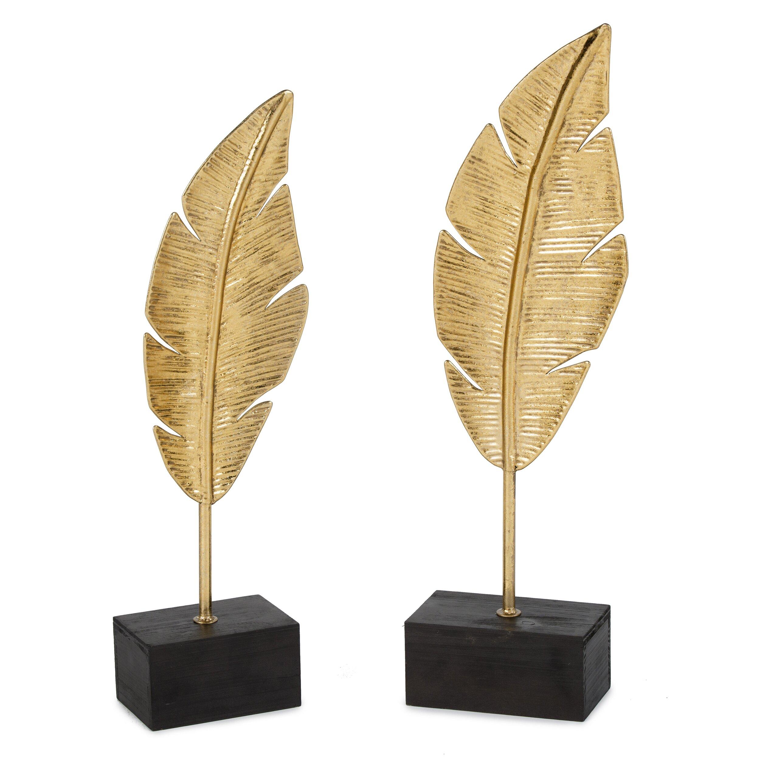 Gild Stock Quote: Gild Golden Feathers Sculpture