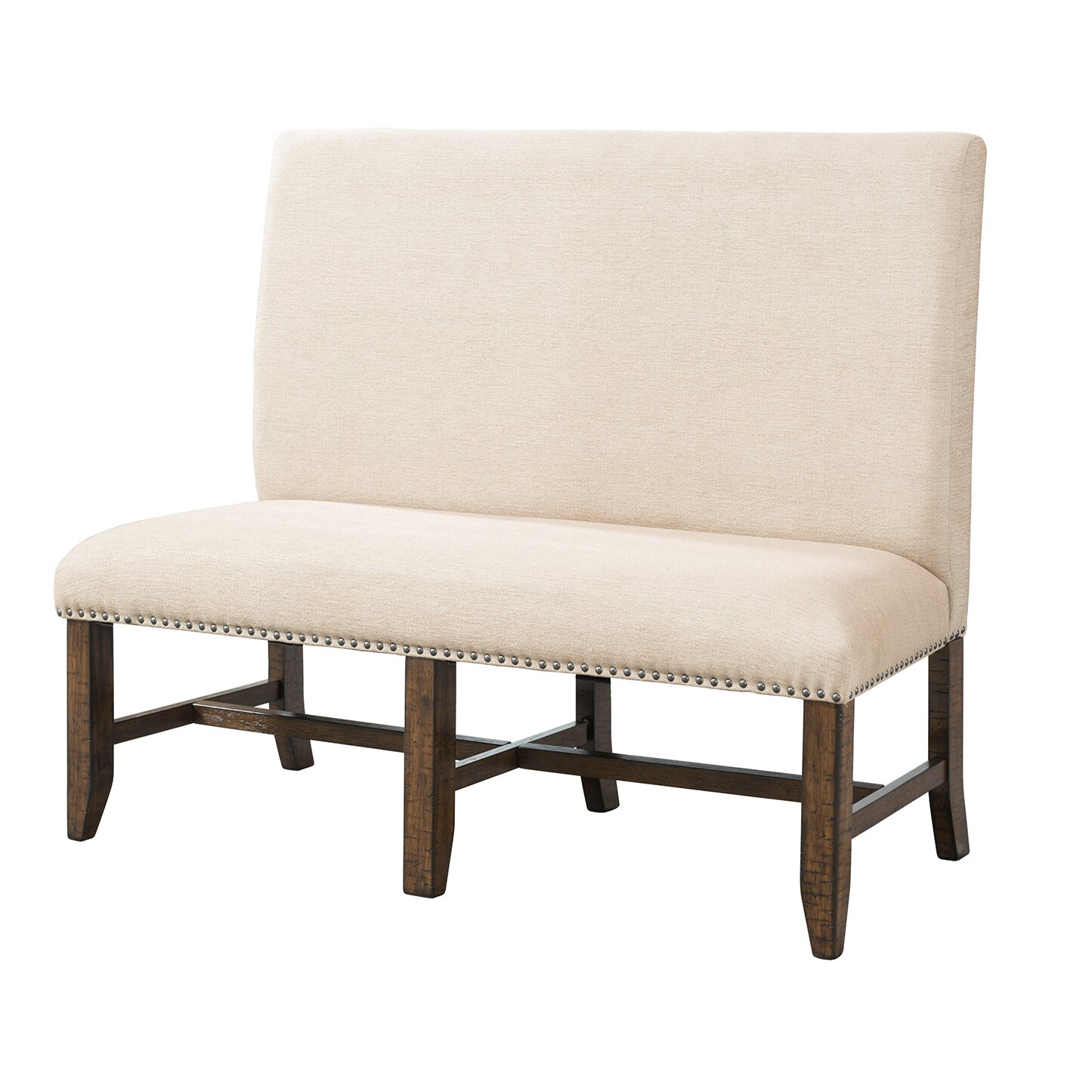 Picket House Furnishings Francis Upholstered Kitchen Bench