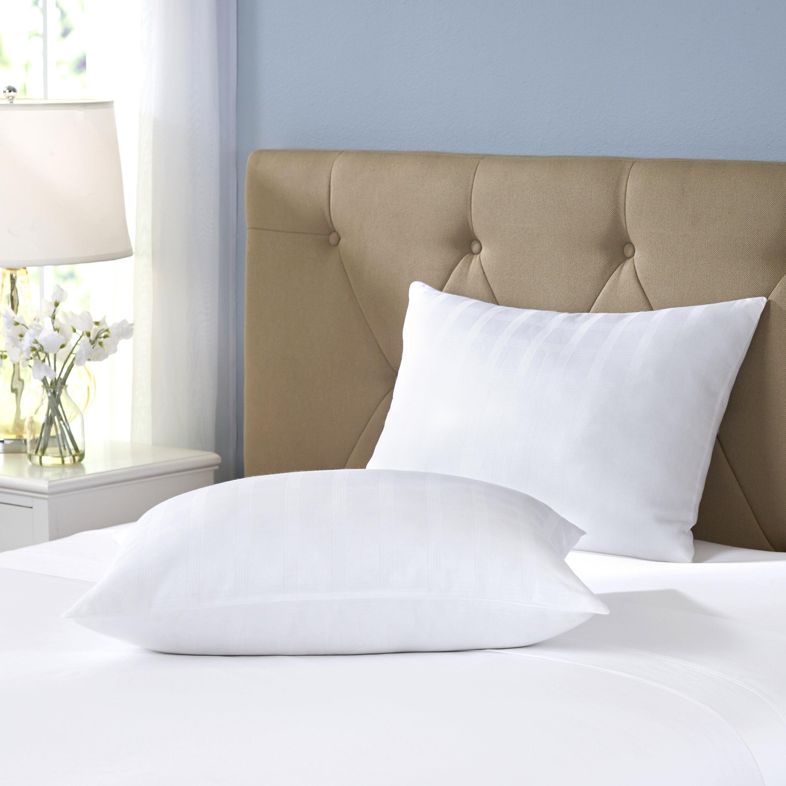 Wayfair sleep wayfair sleep gel fiber pillow reviews for Bed pillows reviews