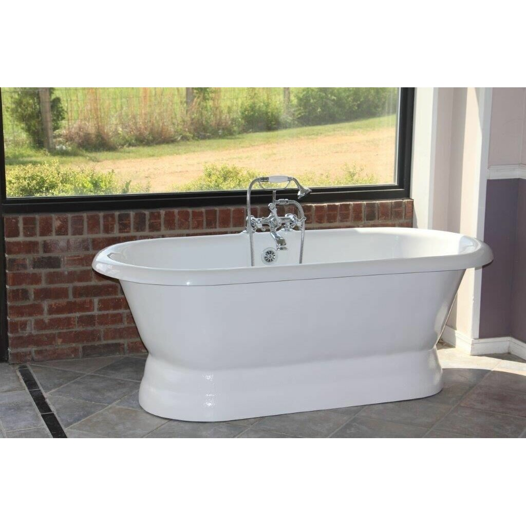 restoria bathtub company majesty 66 x 30 bathtub