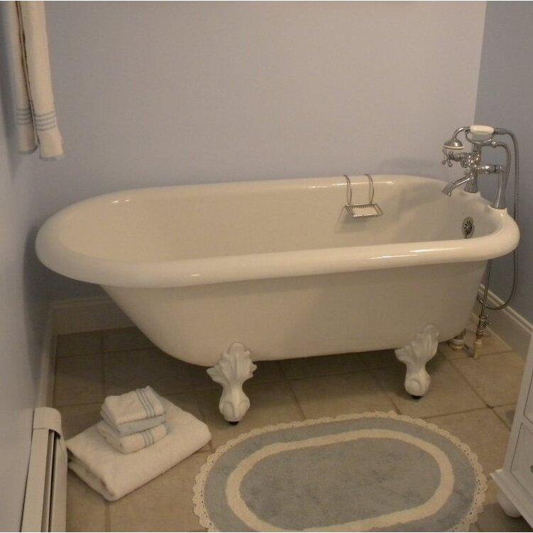 Restoria bathtub company monarch 66 x 30 bathtub for A table restoria
