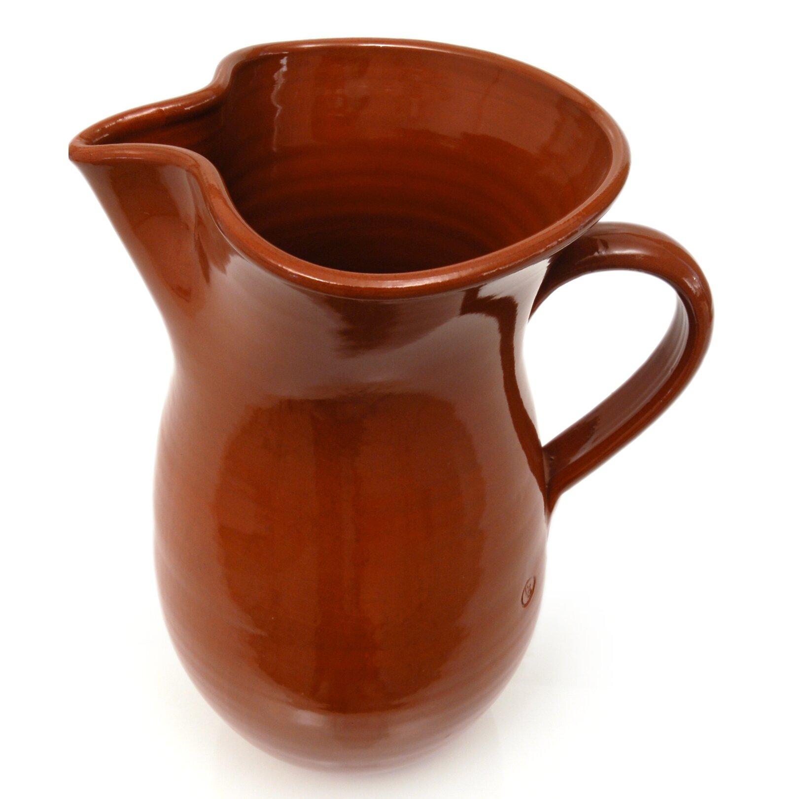 Graupera Pottery Artisans Classic Sangria Pitcher Wayfair