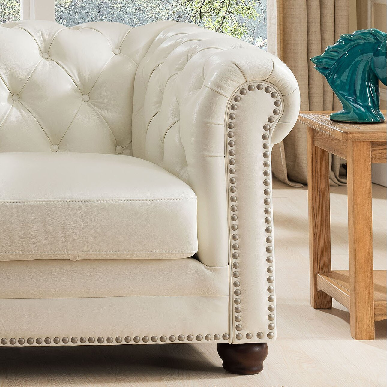 Amax Nashville Leather Sofa And Loveseat Set Reviews Wayfair
