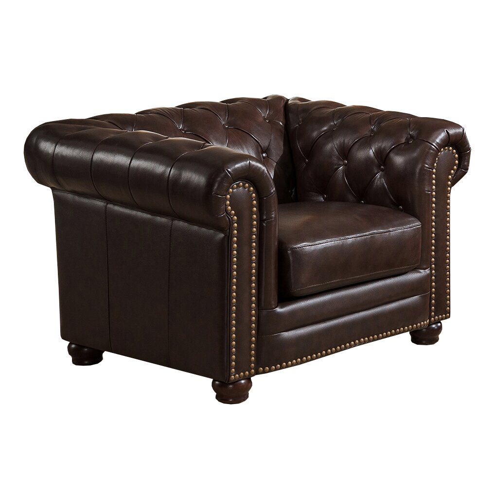 amax kensington top grain leather chesterfield sofa. Black Bedroom Furniture Sets. Home Design Ideas